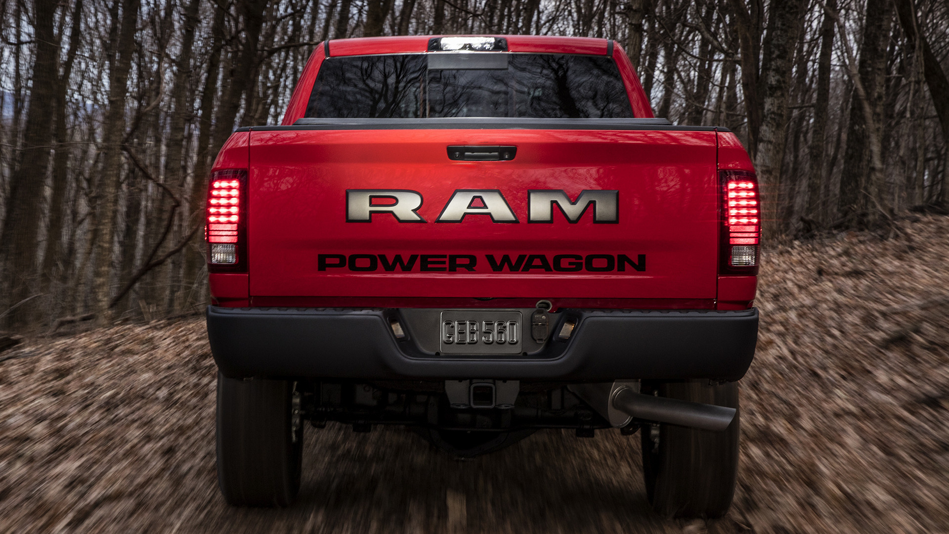 2017 Ram 2500 Power Wagon Crew Cab Wallpapers And Hd