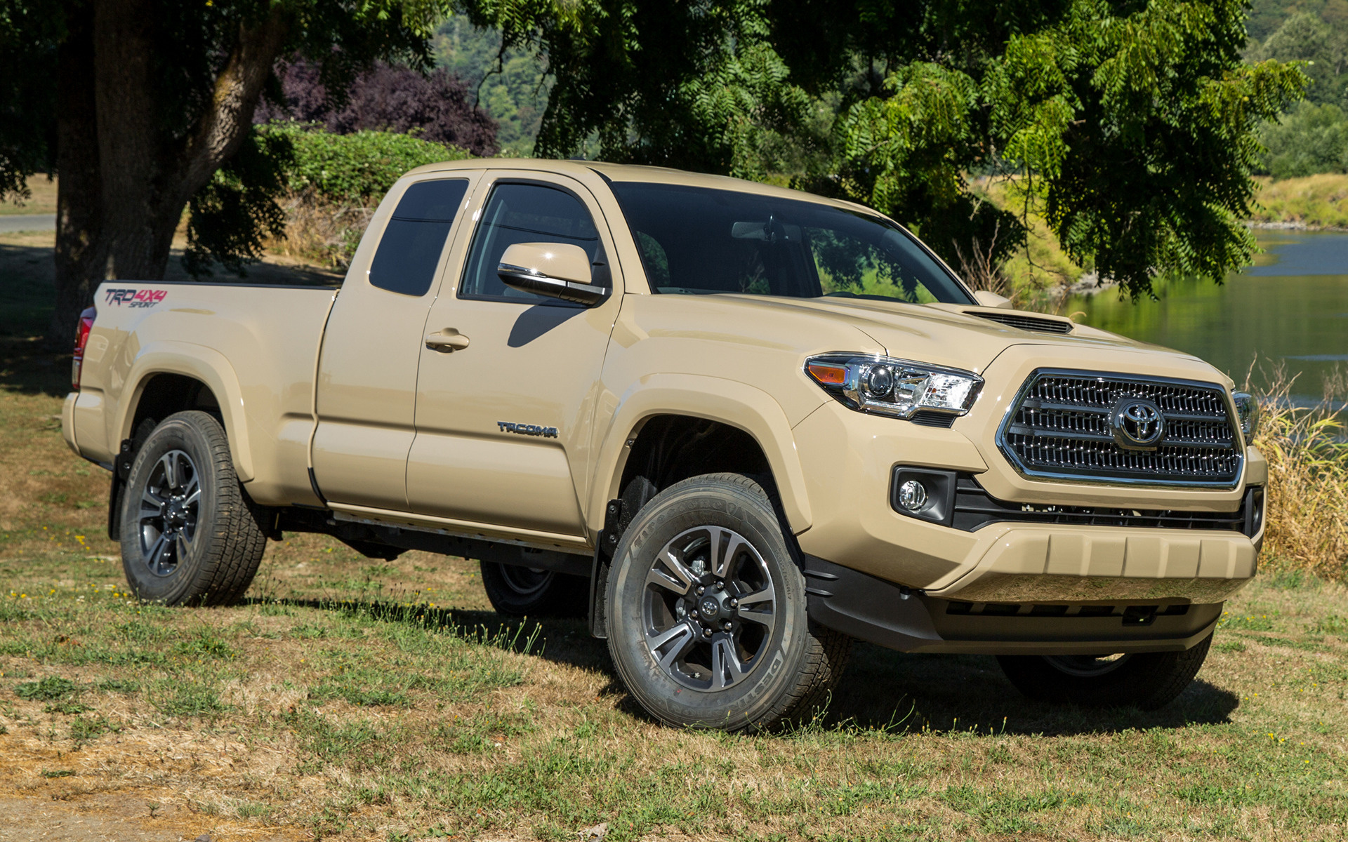Toyota Tacoma Trd Sport Access Cab 2016 Wallpapers And