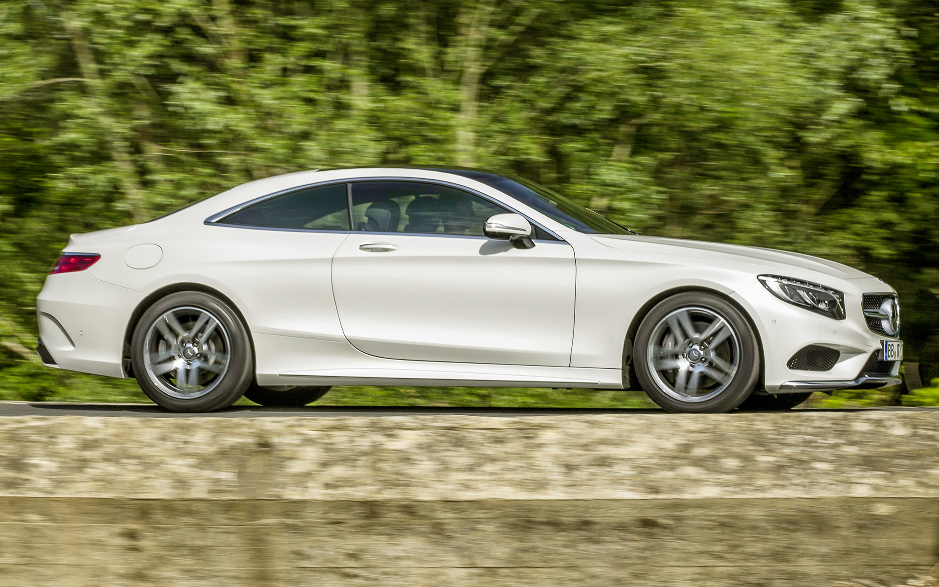 Mercedes benz s class coupe amg line 2014 wallpapers and for Mercedes benz sedan line