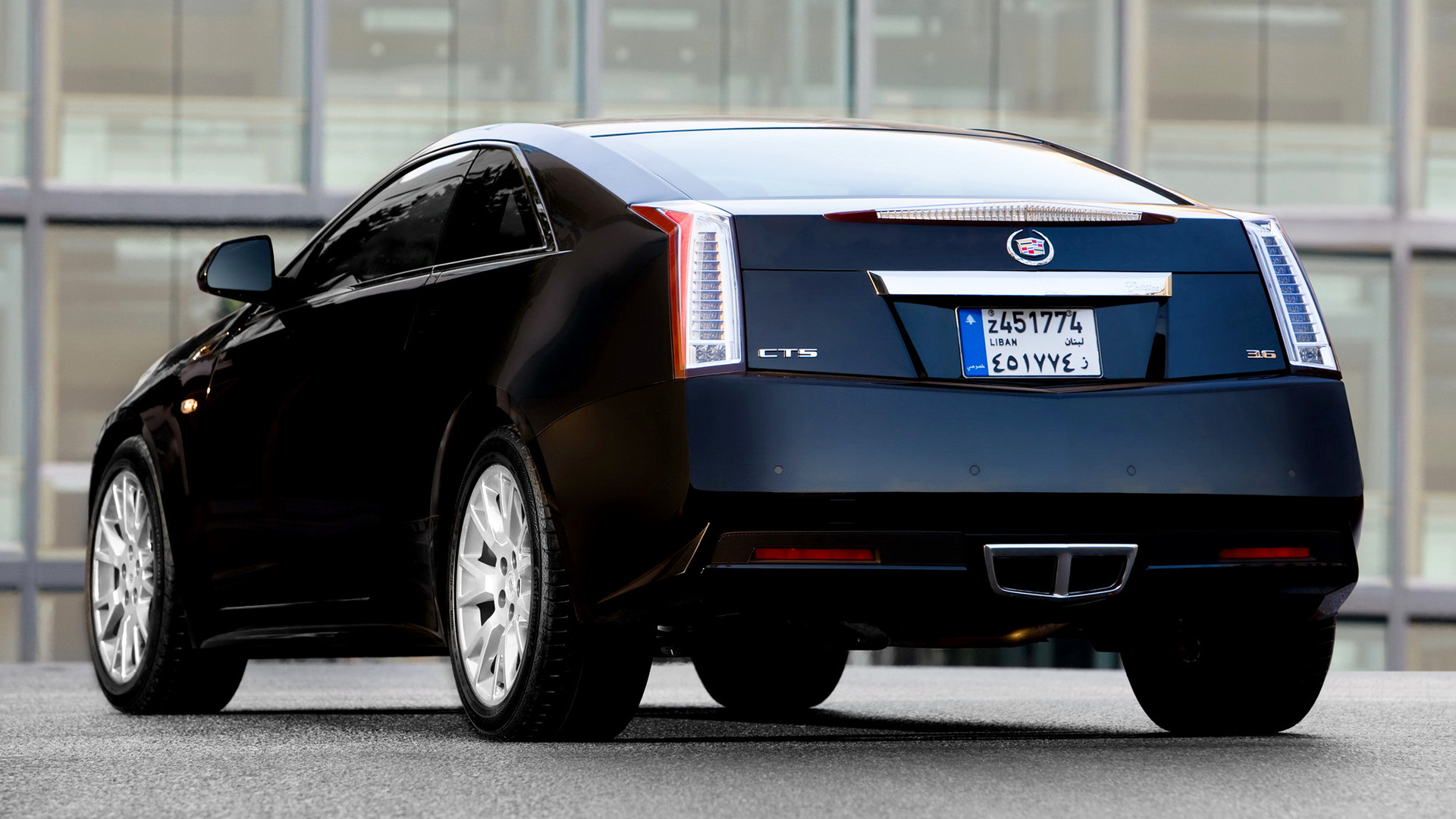 Cadillac CTS Coupe (2010) Wallpapers and HD Images - Car Pixel