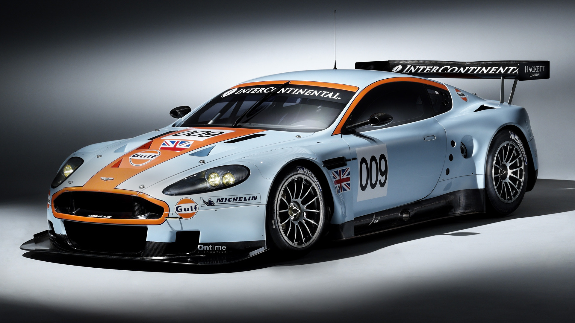 Aston Martin Dbr Gulf Oil Livery Wallpaper Hd