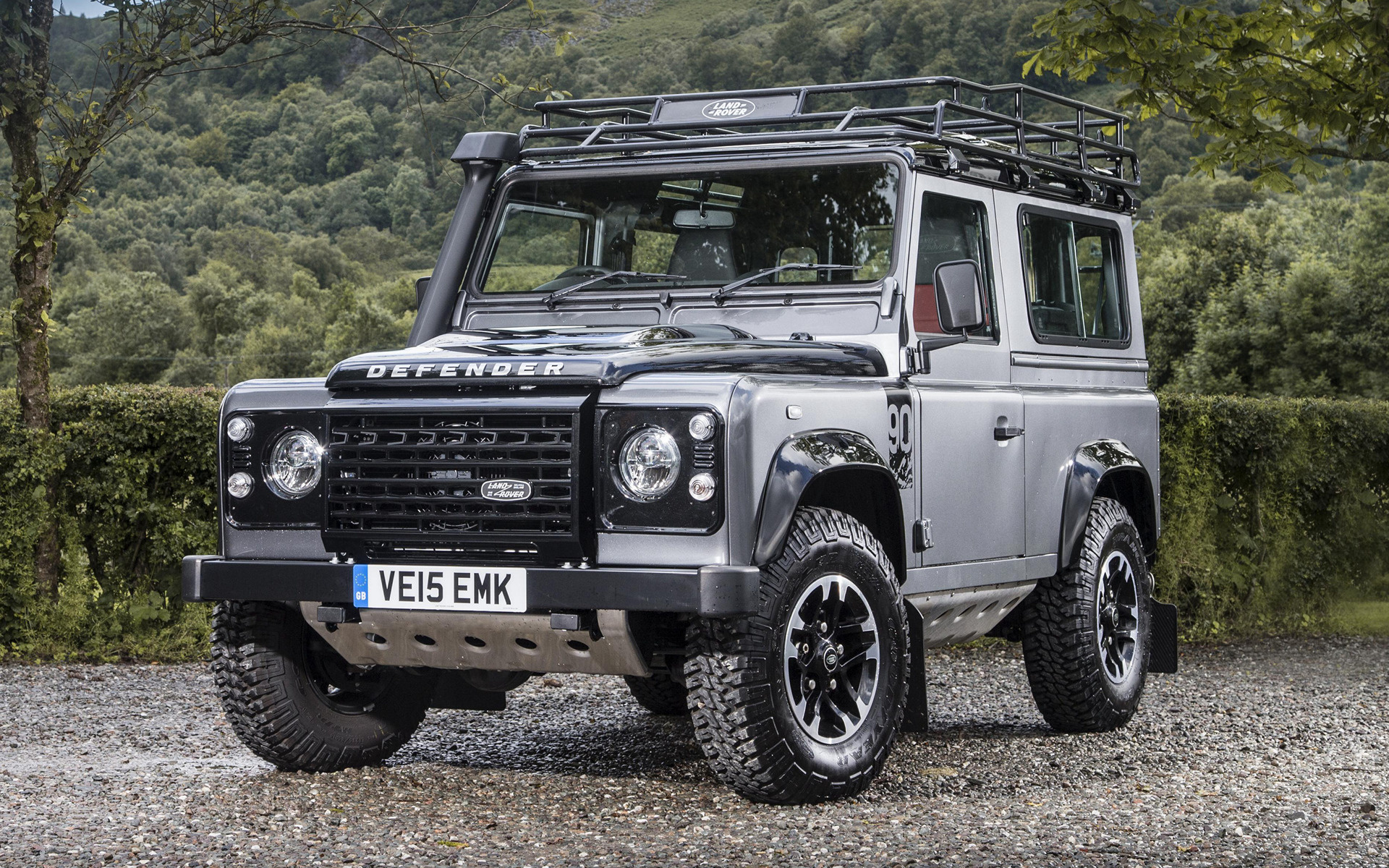 Land Rover Defender 90 Adventure 2015 Uk Wallpapers And