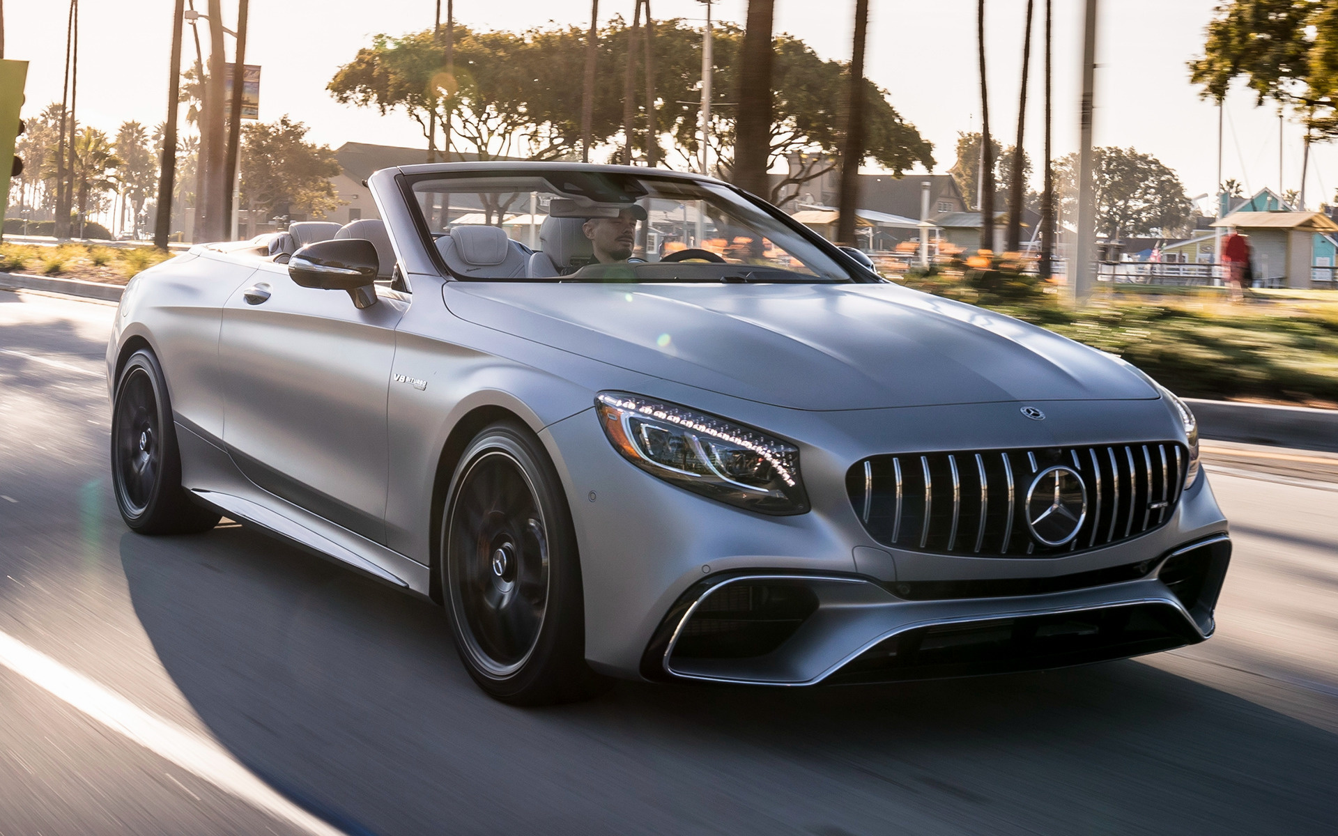 2018 Mercedes-AMG S 63 Cabriolet (US) - Wallpapers and HD ...