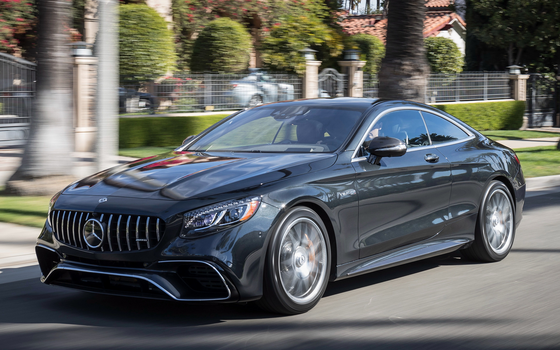 2018 Mercedes-AMG S 63 Coupe (US) - Wallpapers and HD ...