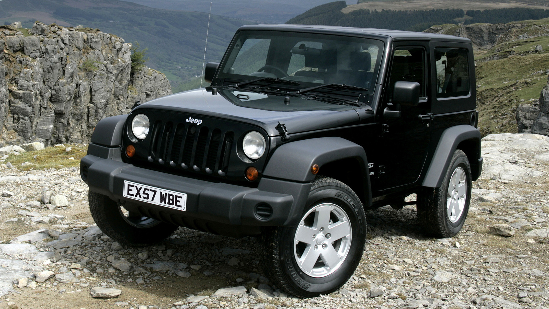 jeep wrangler sport 2007 uk wallpapers and hd images car pixel. Black Bedroom Furniture Sets. Home Design Ideas