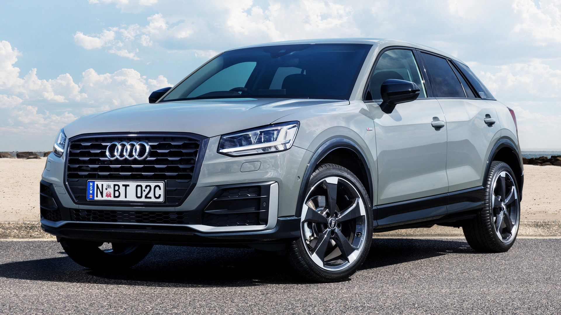 audi q2 edition 1 2017 au wallpapers and hd images car pixel. Black Bedroom Furniture Sets. Home Design Ideas