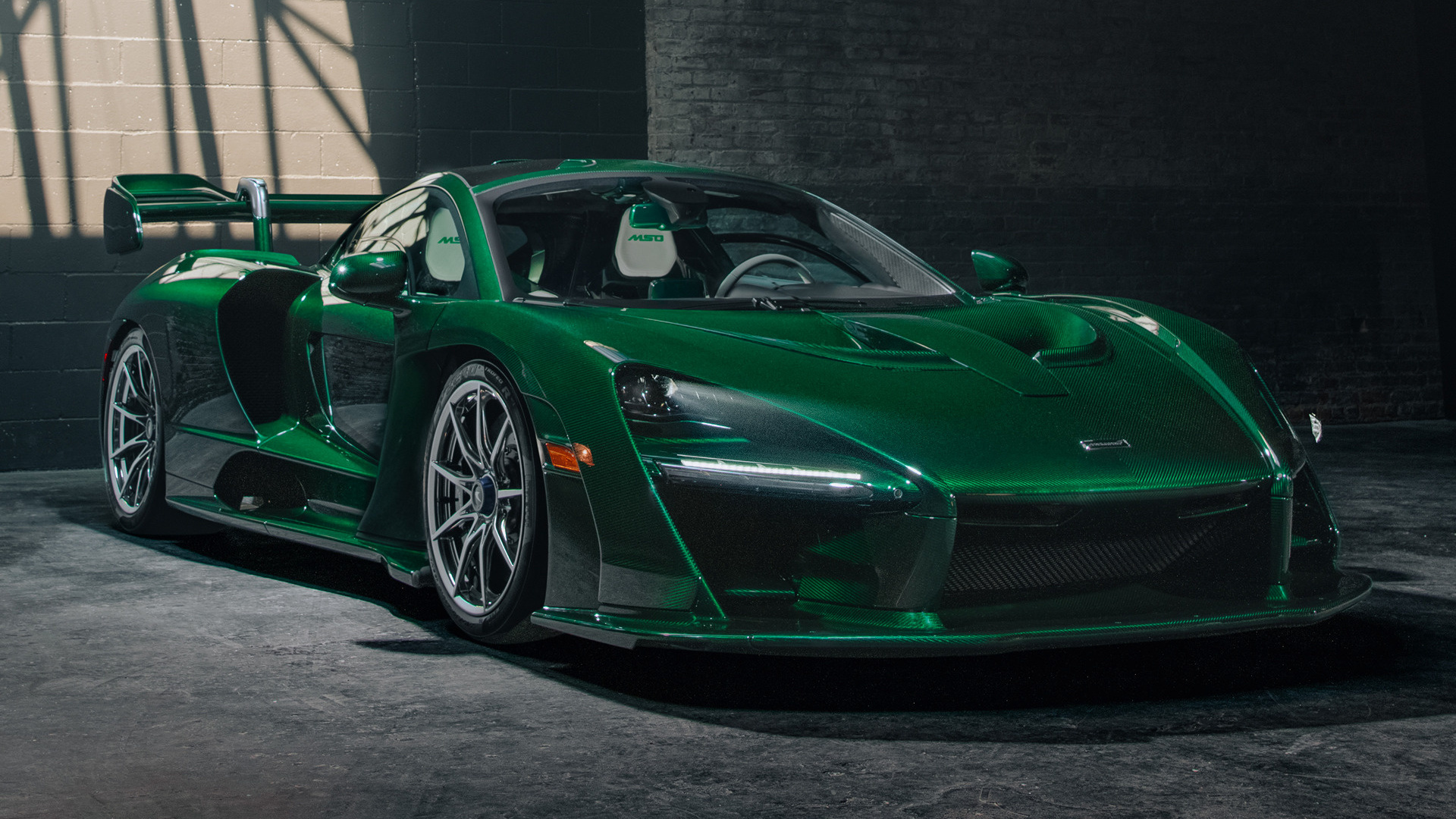 All Car Brands >> 2018 McLaren Senna Fux Green by MSO (US) - Wallpapers and ...