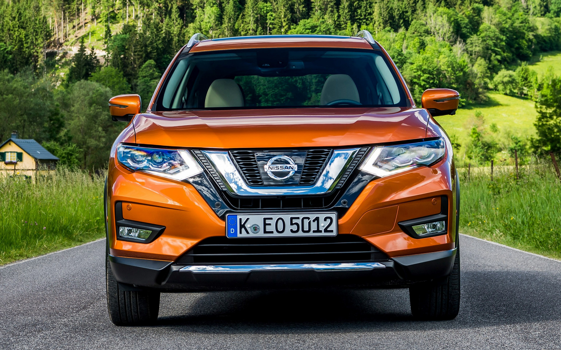 2017 nissan x trail wallpapers and hd images car pixel. Black Bedroom Furniture Sets. Home Design Ideas