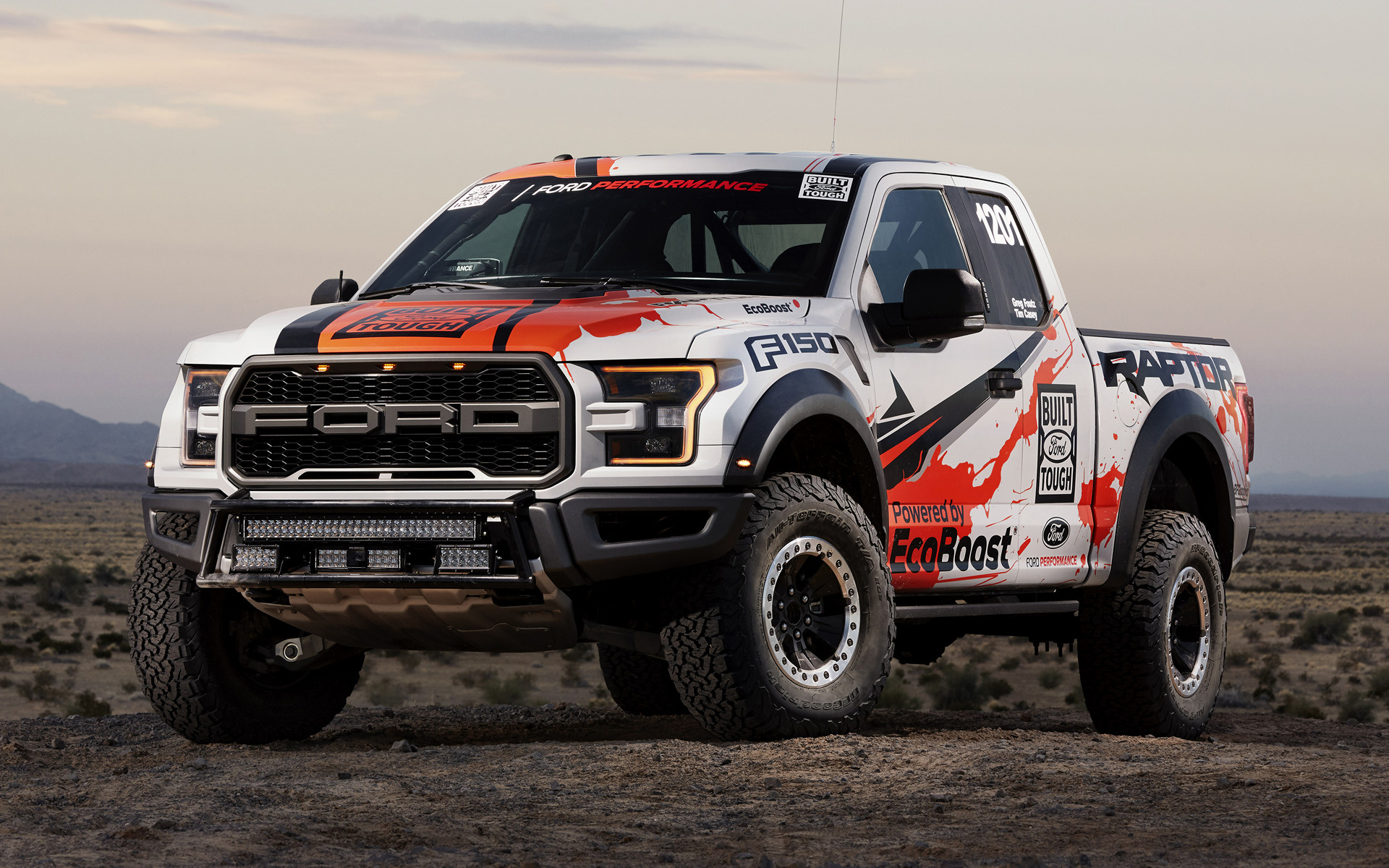 Ford F150 King Ranch >> 2017 Ford F-150 Raptor Race Truck - Wallpapers and HD ...