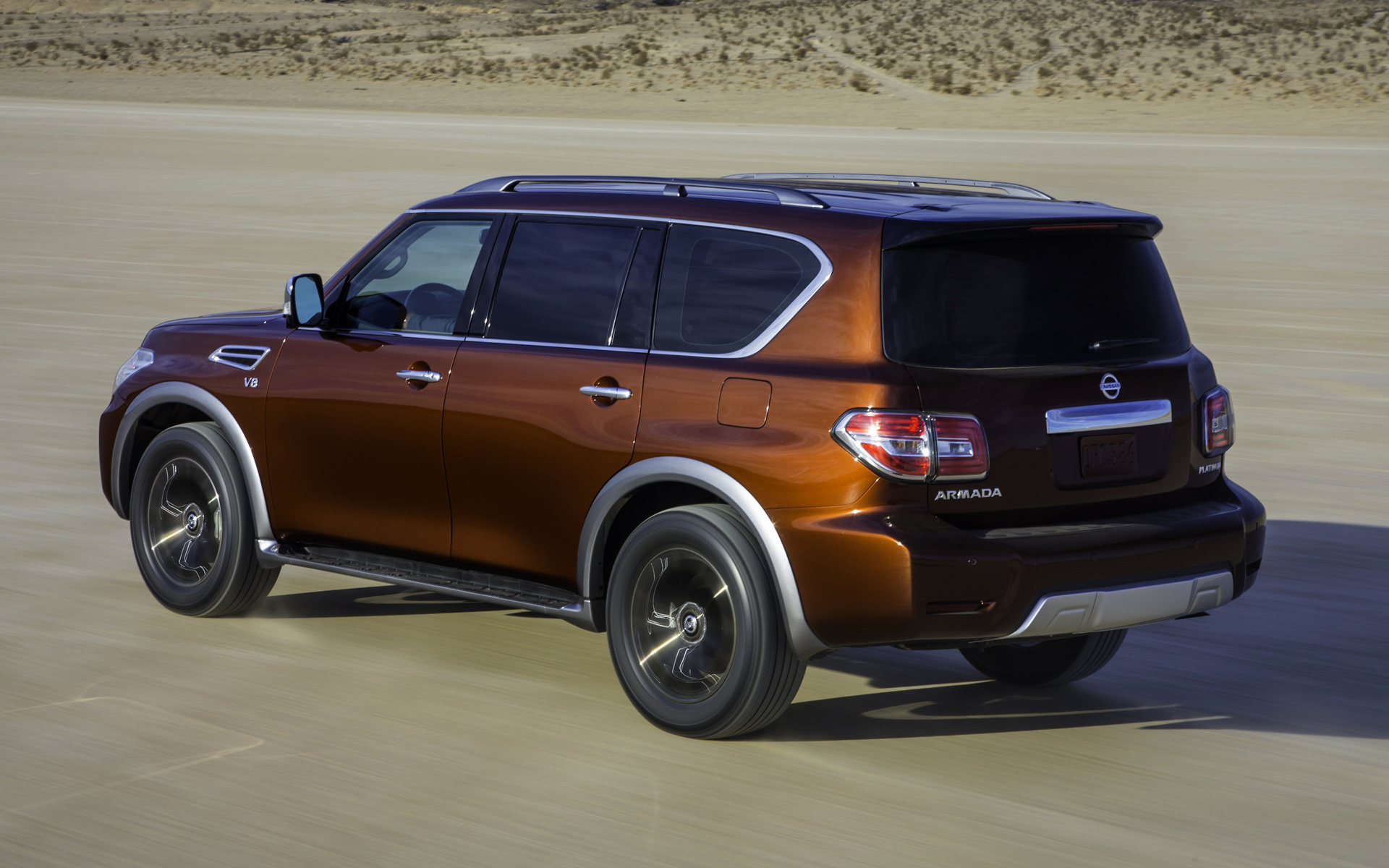 2017 Nissan Armada Platinum Wallpapers And Hd Images