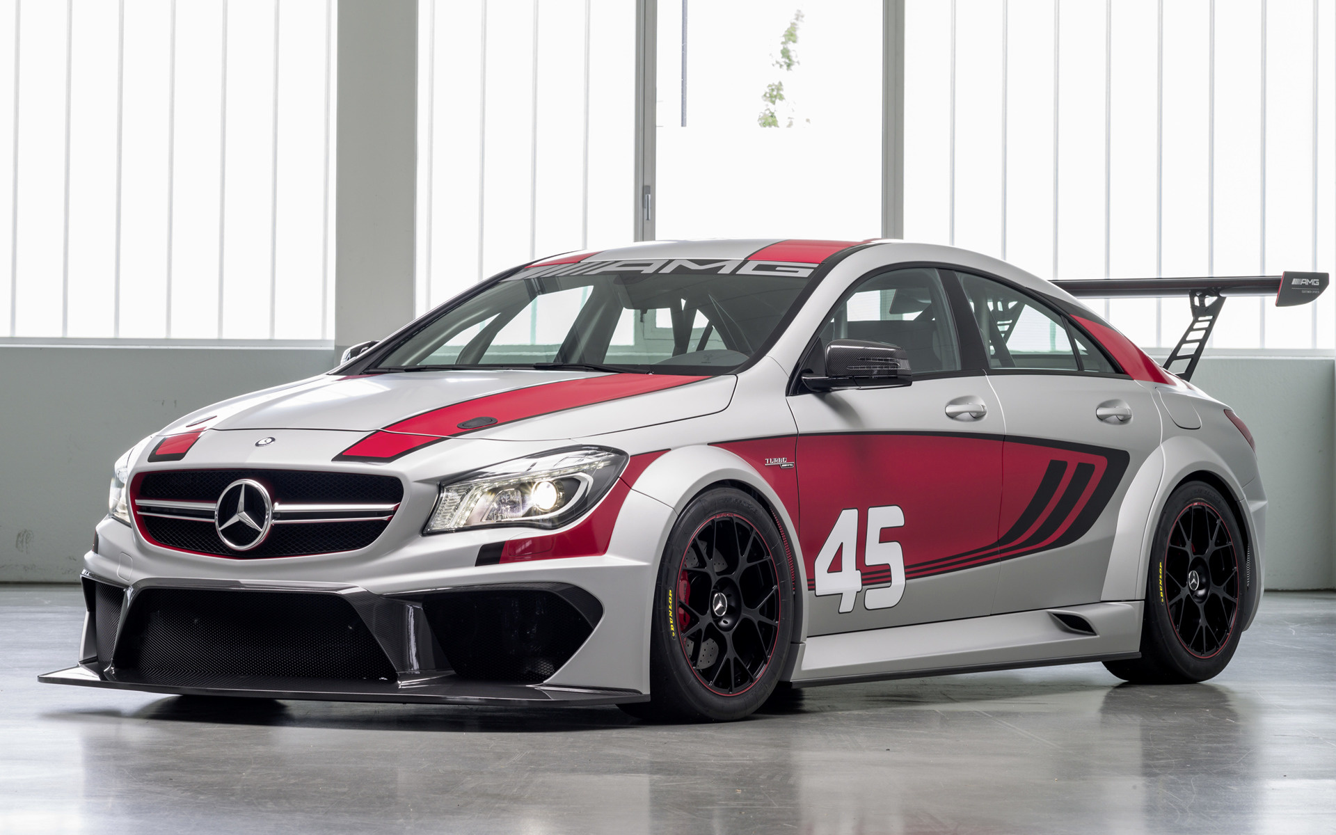 2013 Mercedes Benz Cla 45 Amg Racing Series Concept Fondos