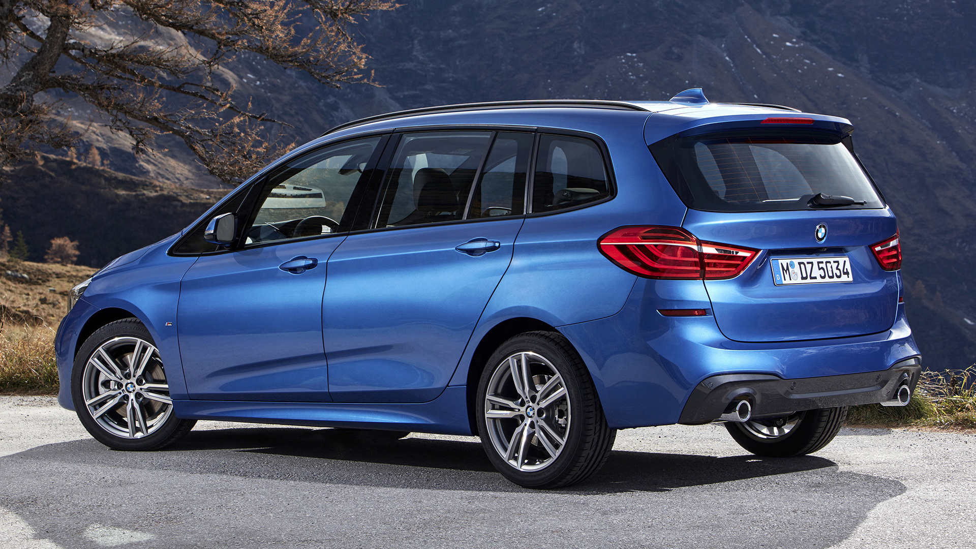 bmw 2 series gran tourer m sport 2018 wallpapers and hd images car pixel. Black Bedroom Furniture Sets. Home Design Ideas