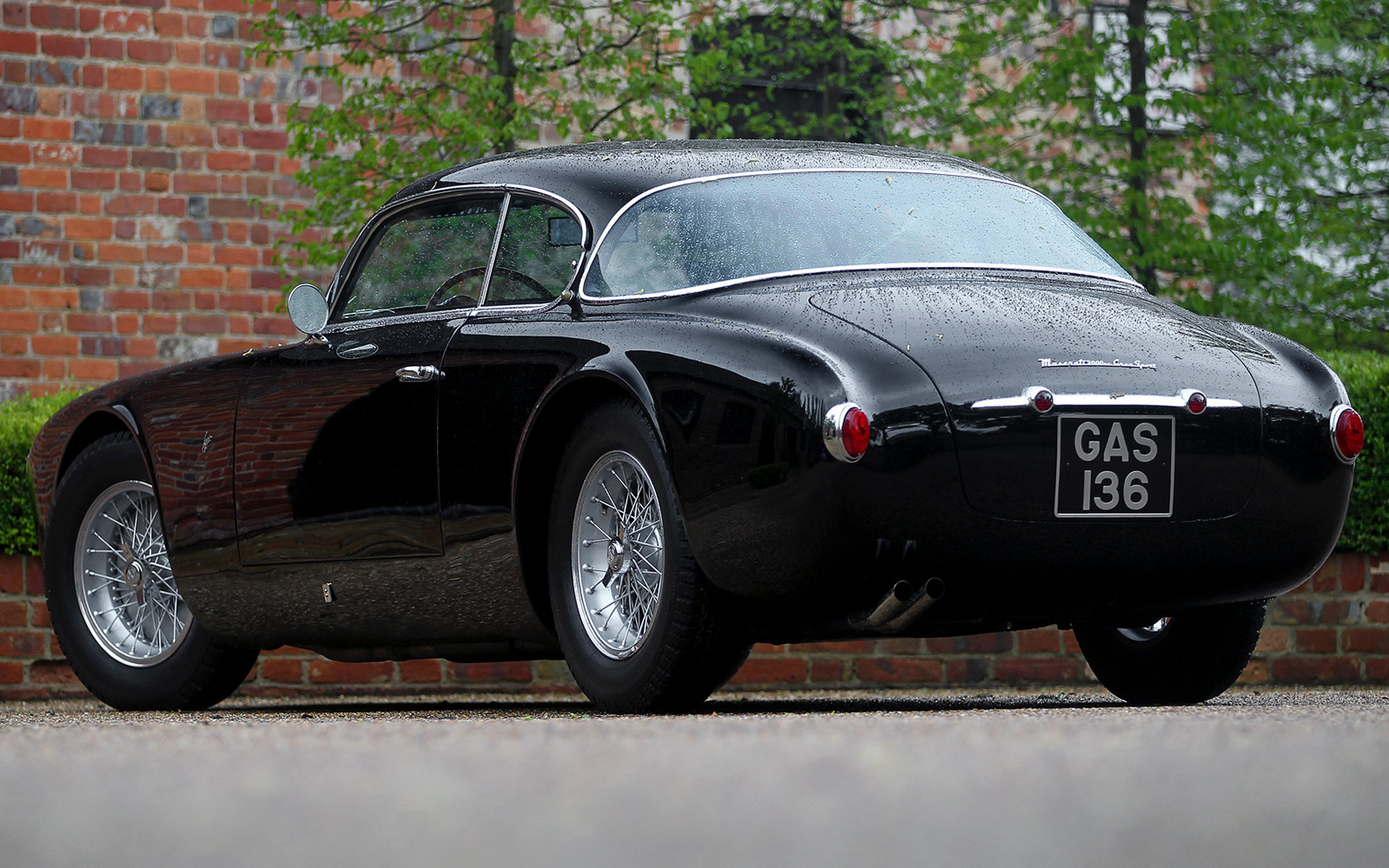 1954 Maserati A6g 2000 Gran Sport By Frua Wallpapers And