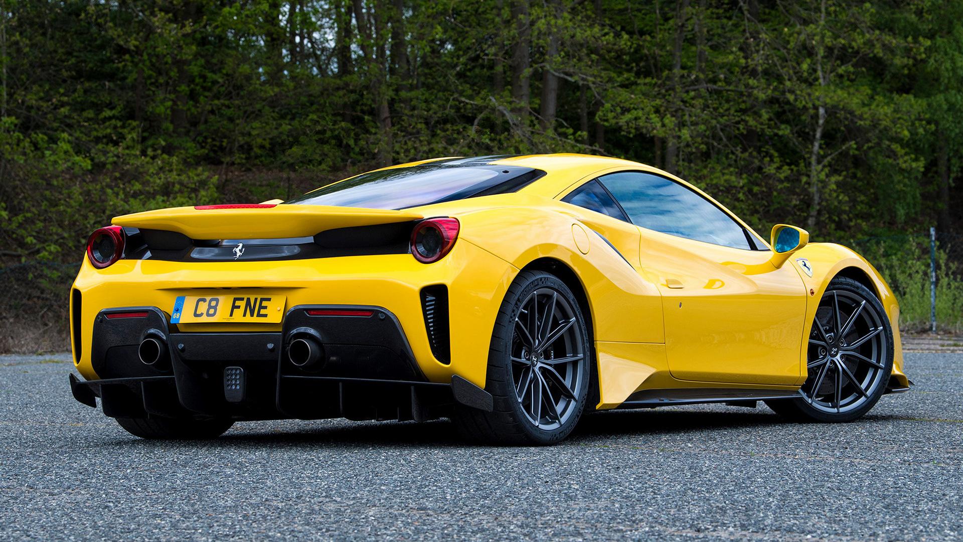35+ Hd 488 Ferrari Wallpaper  PNG