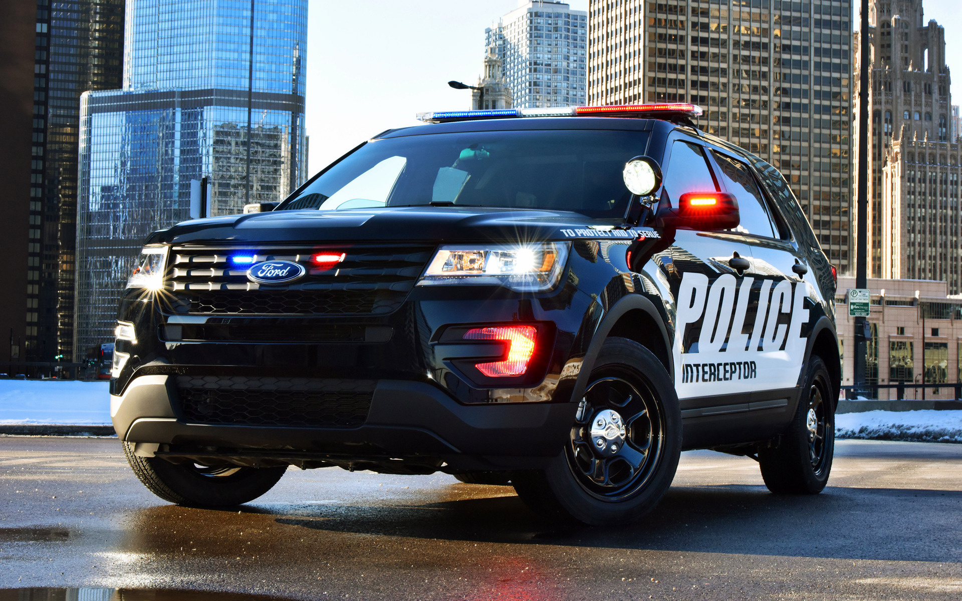 Ford Police Interceptor Utility 2016 Wallpapers And Hd