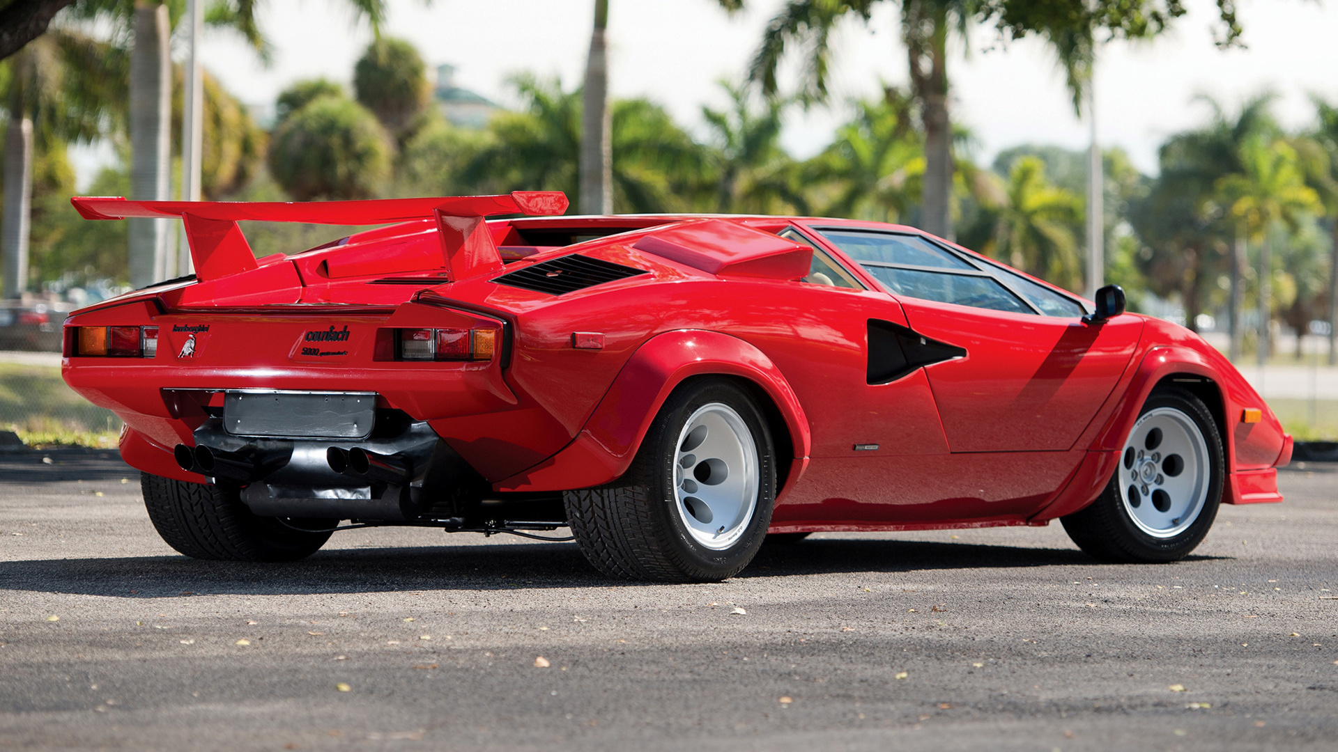 lamborghini countach 5000 quattrovalvole 1985 us wallpapers and hd images. Black Bedroom Furniture Sets. Home Design Ideas