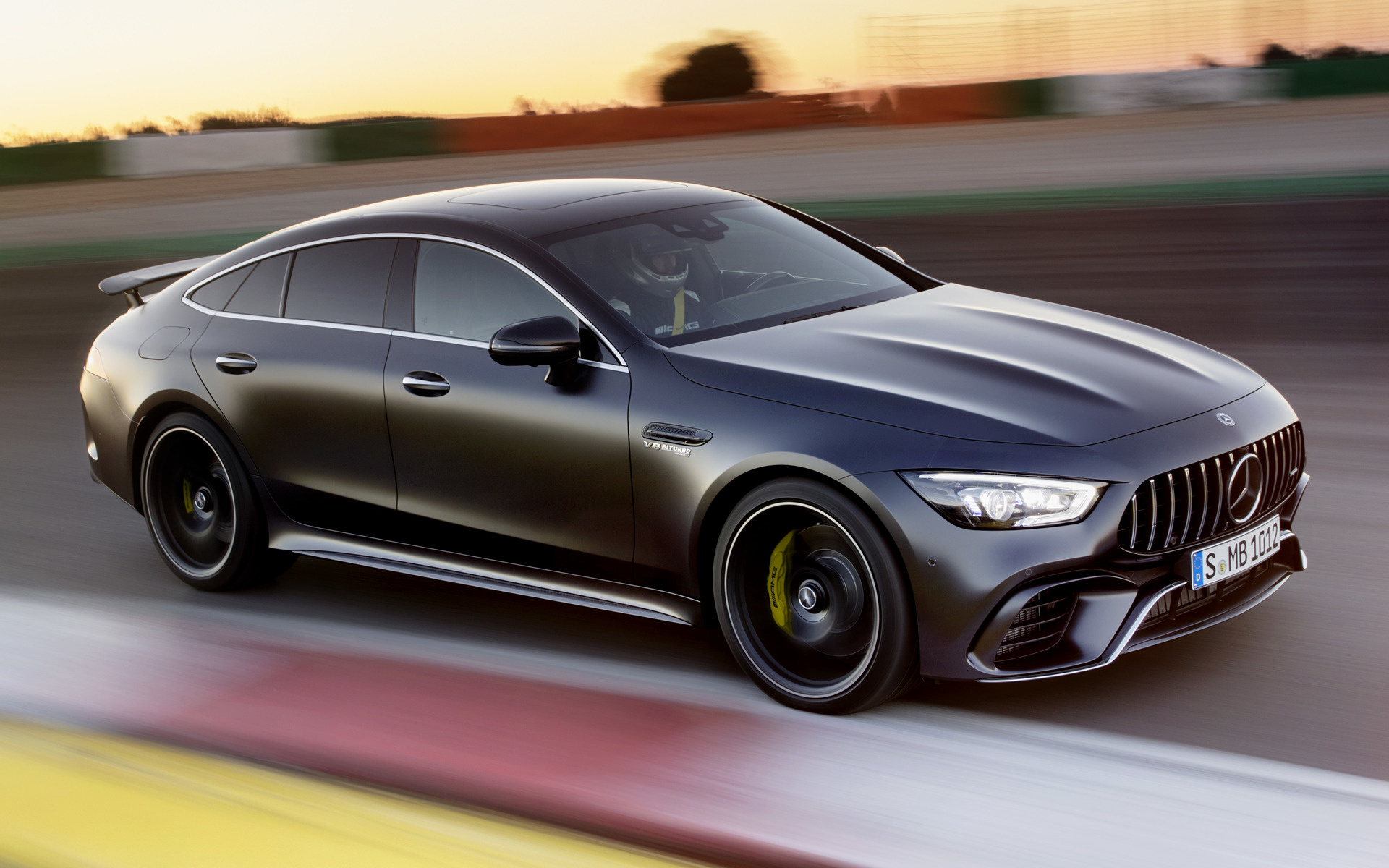 2018 Mercedes Amg Gt 63 S 4 Door Wallpapers And Hd