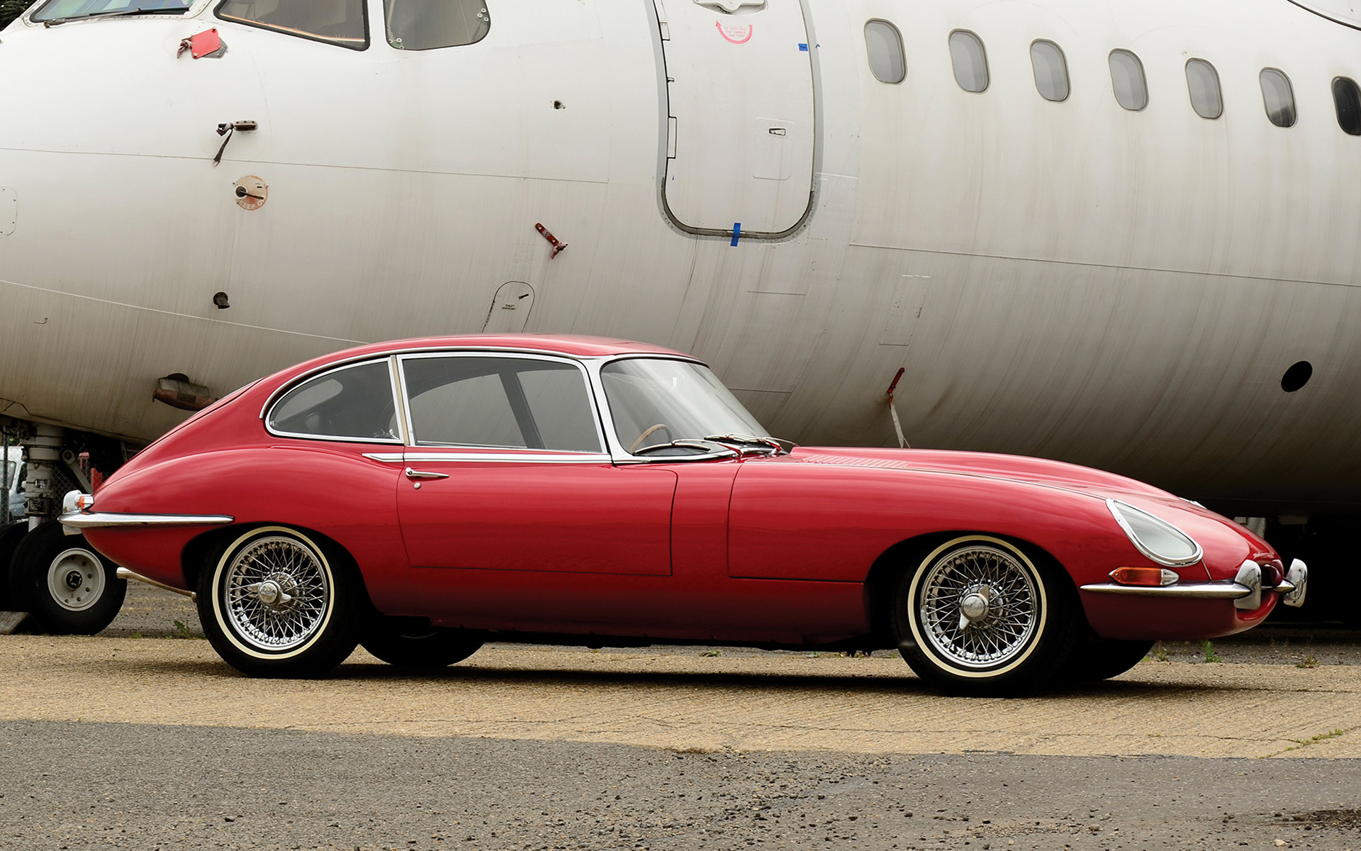 1966 jaguar e-type 2 2 coupe  uk