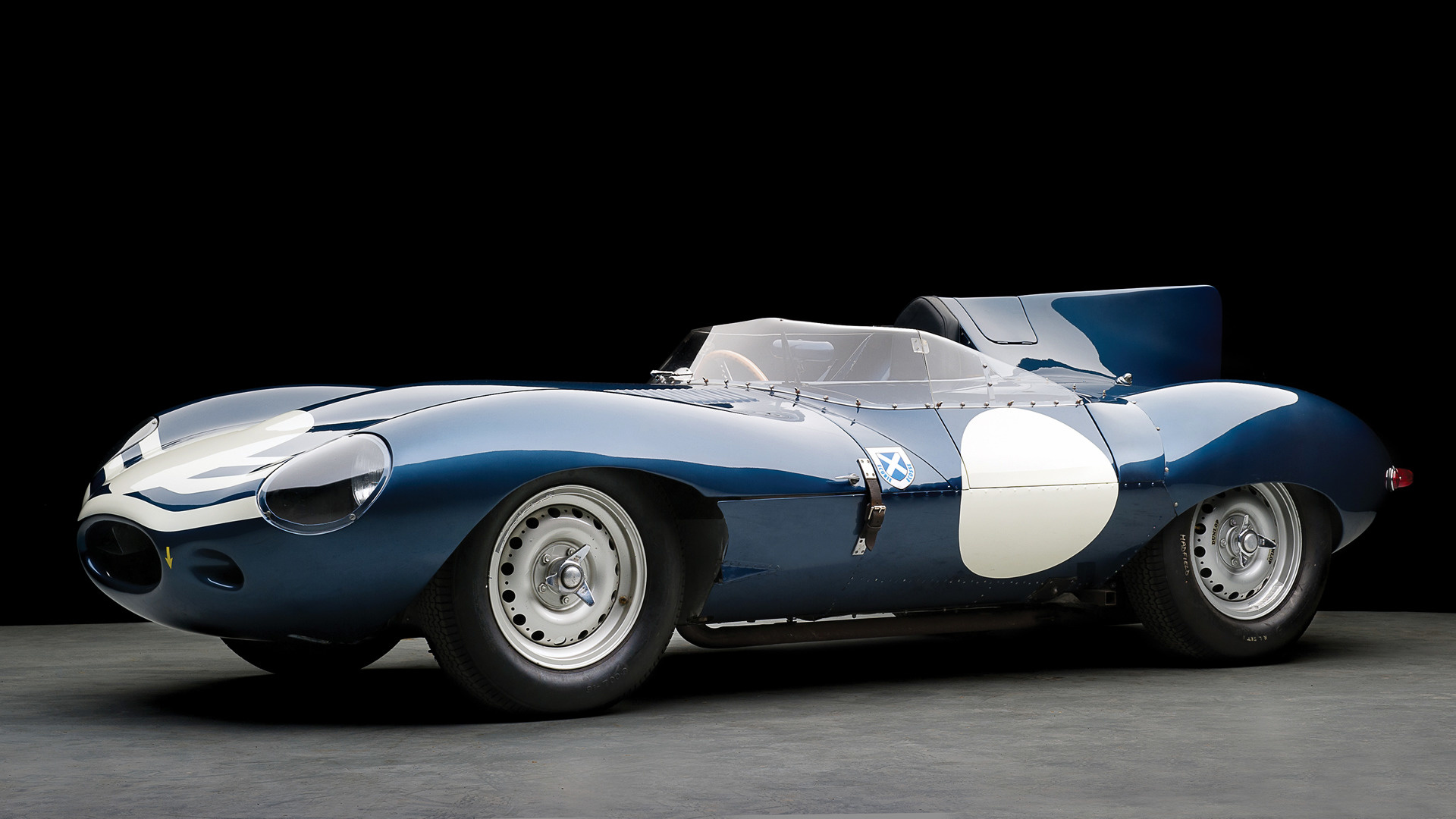Jaguar D Type Long Nose 504 1955 Wallpapers And Hd