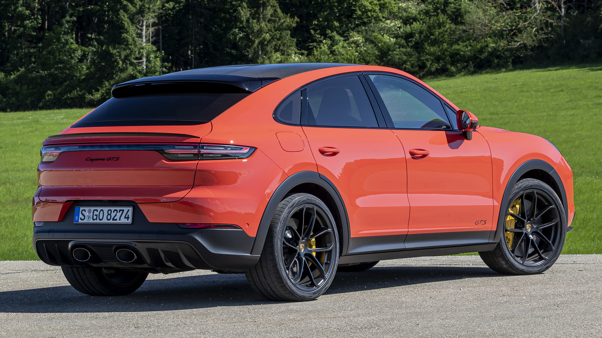 2020 Porsche Cayenne Gts Coupe Wallpapers And Hd Images Car Pixel