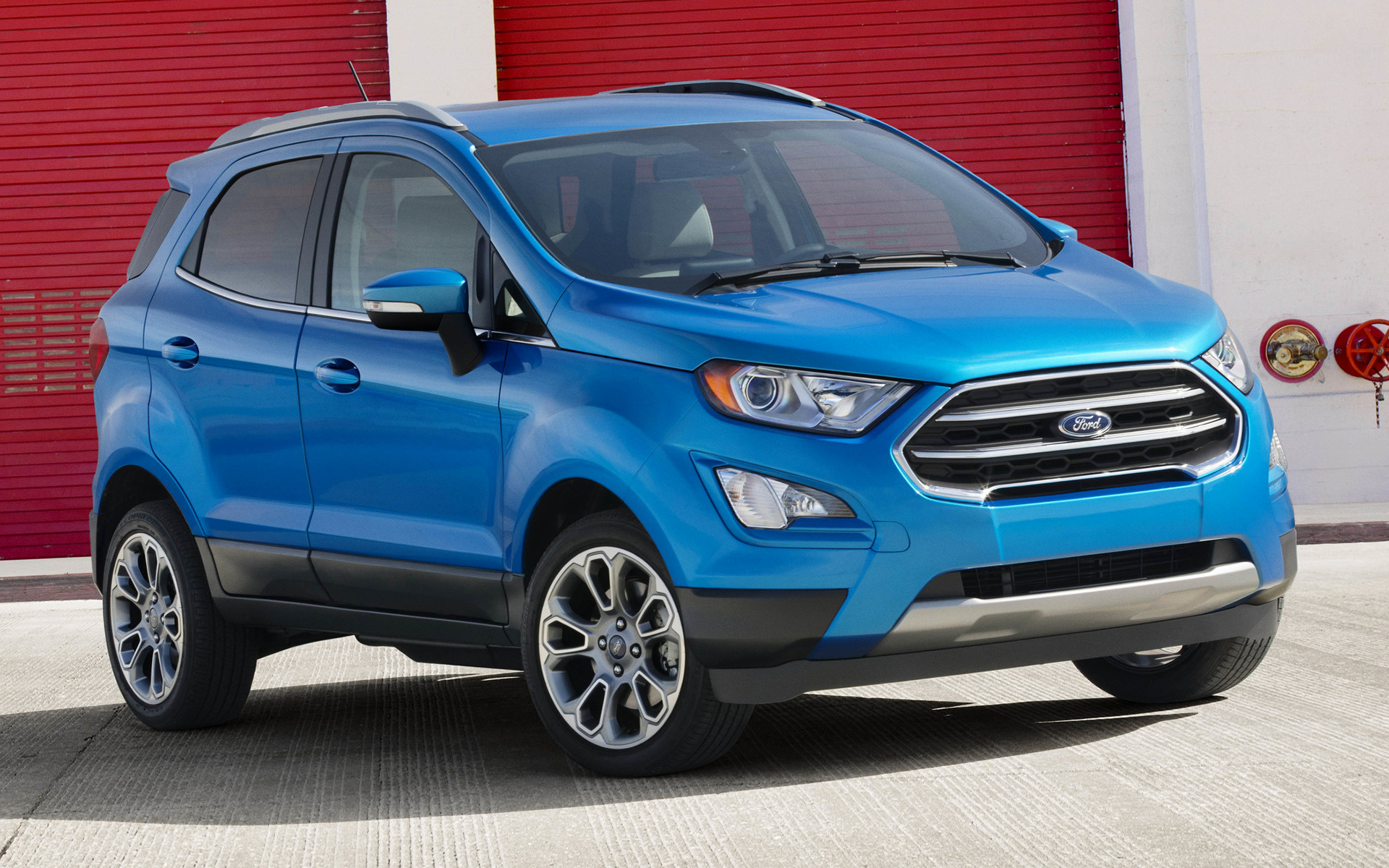 2018 ford ecosport titanium us wallpapers and hd images car pixel. Black Bedroom Furniture Sets. Home Design Ideas
