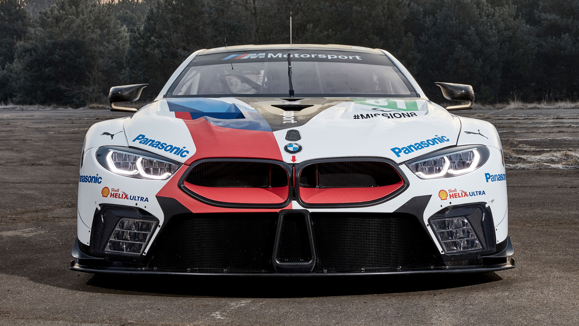 Nissan Sports Car >> 2018 BMW M8 GTE - Wallpapers and HD Images | Car Pixel