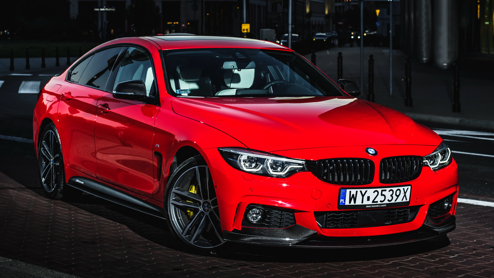 2017 Bmw 4 Series Gran Coupe With M Performance Parts