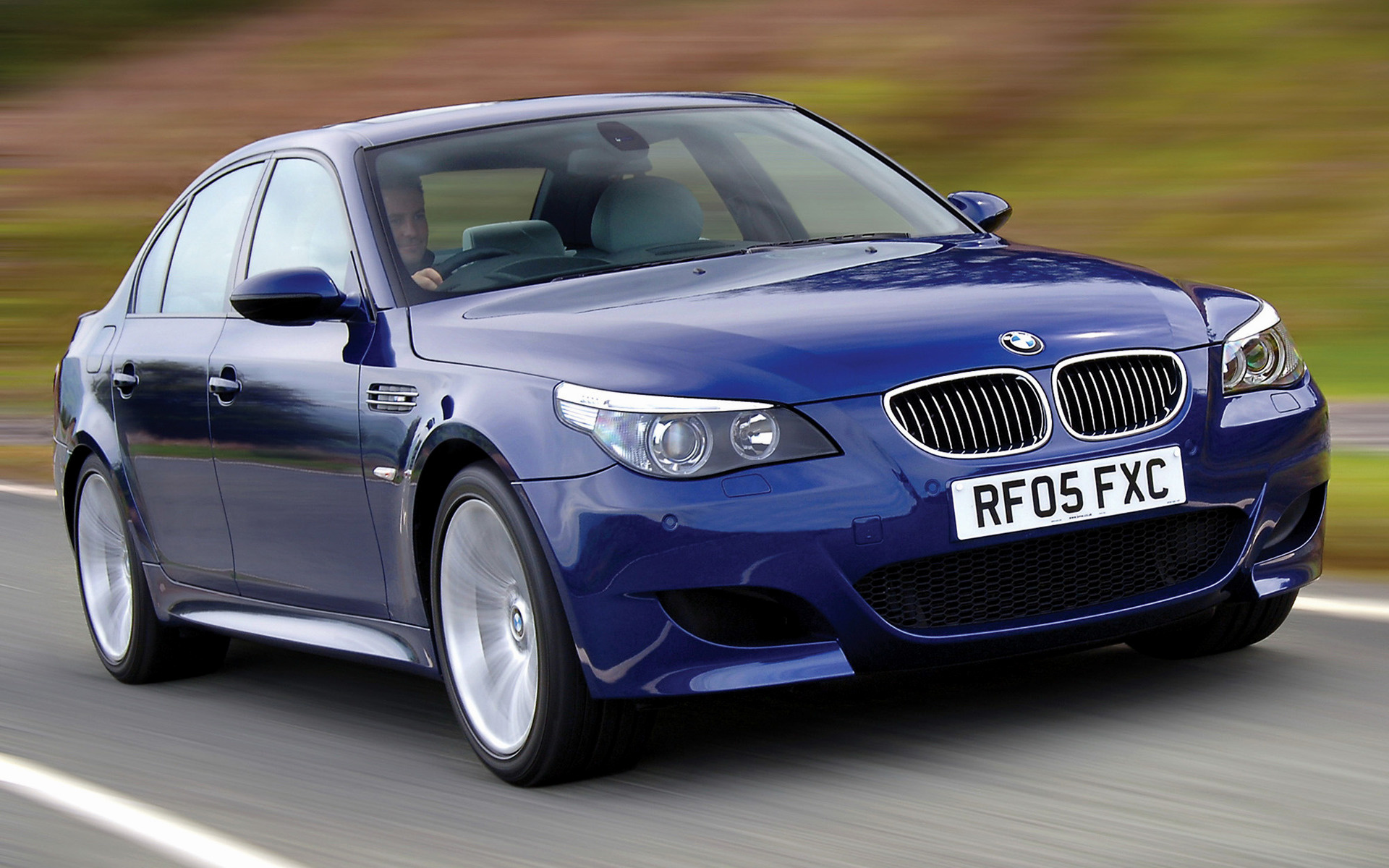2005 Bmw M5 Uk Wallpapers And Hd Images Car Pixel