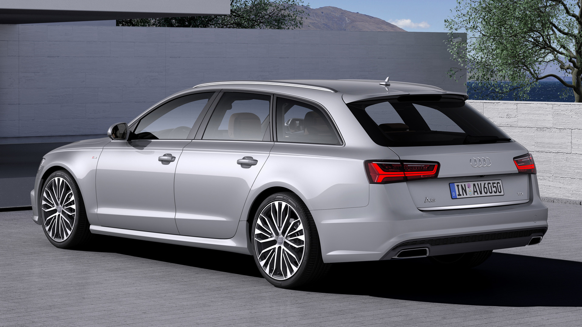 audi a6 avant s line 2014 wallpapers and hd images car. Black Bedroom Furniture Sets. Home Design Ideas