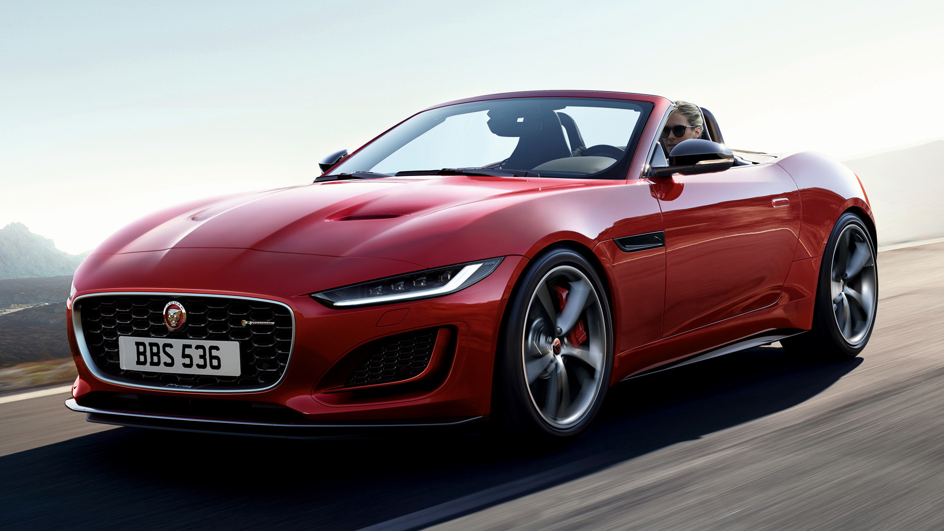 2020 Jaguar F-Type Convertible R-Dynamic - Wallpapers and ...