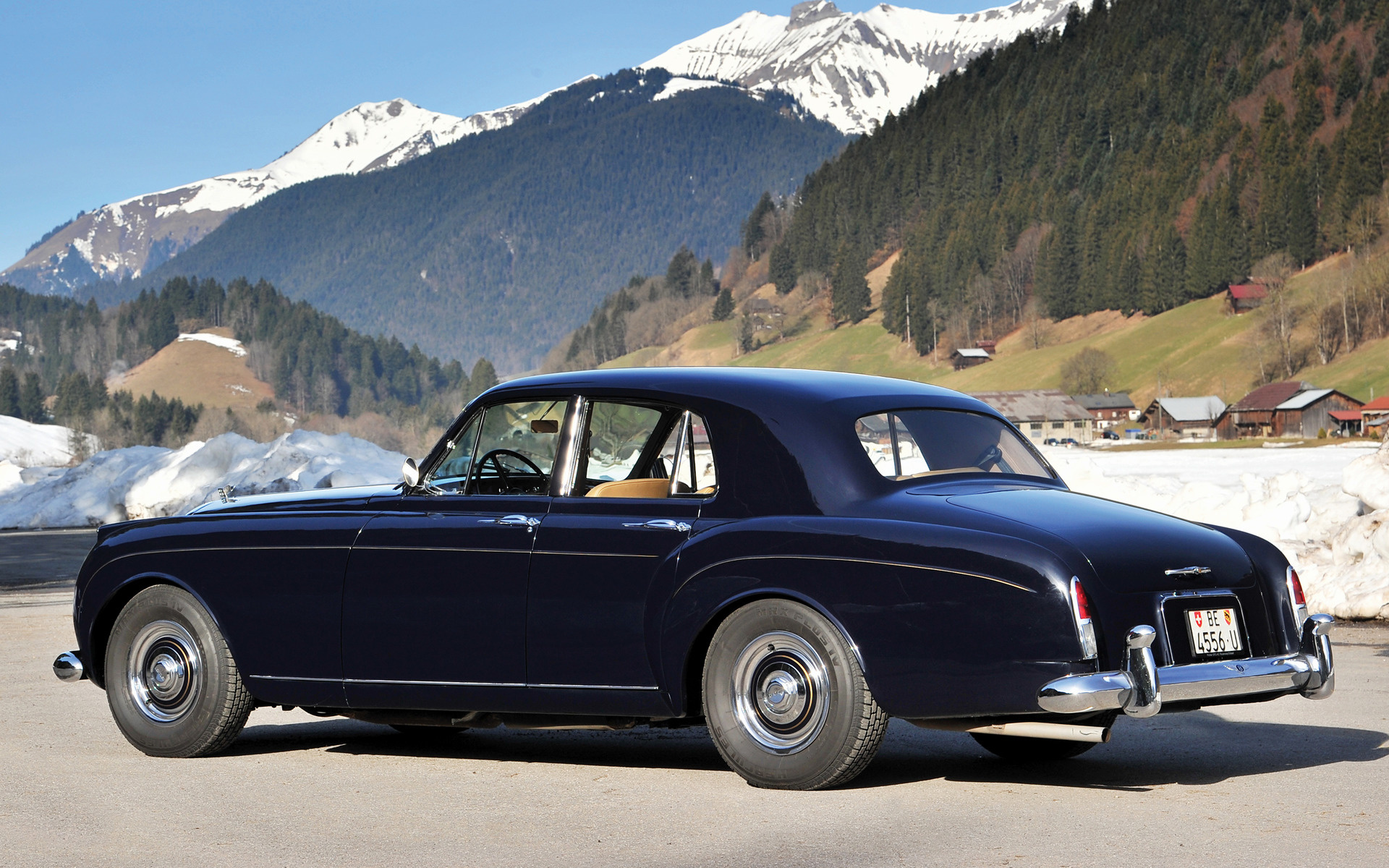 Bentley S1 Continental Flying Spur By Mulliner 1958