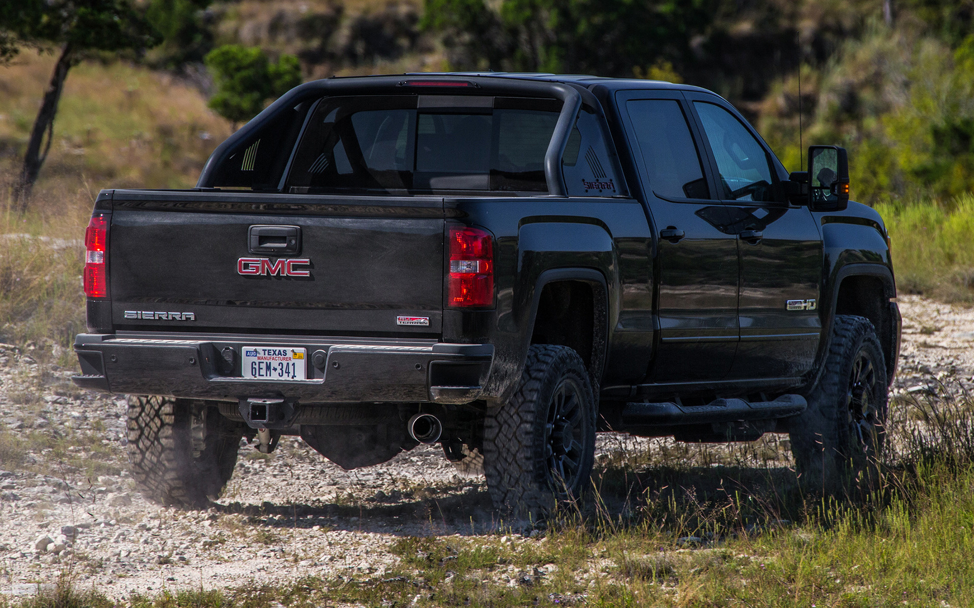 gmc sierra 2500 hd all terrain x crew cab 2017 wallpapers and hd images car pixel. Black Bedroom Furniture Sets. Home Design Ideas