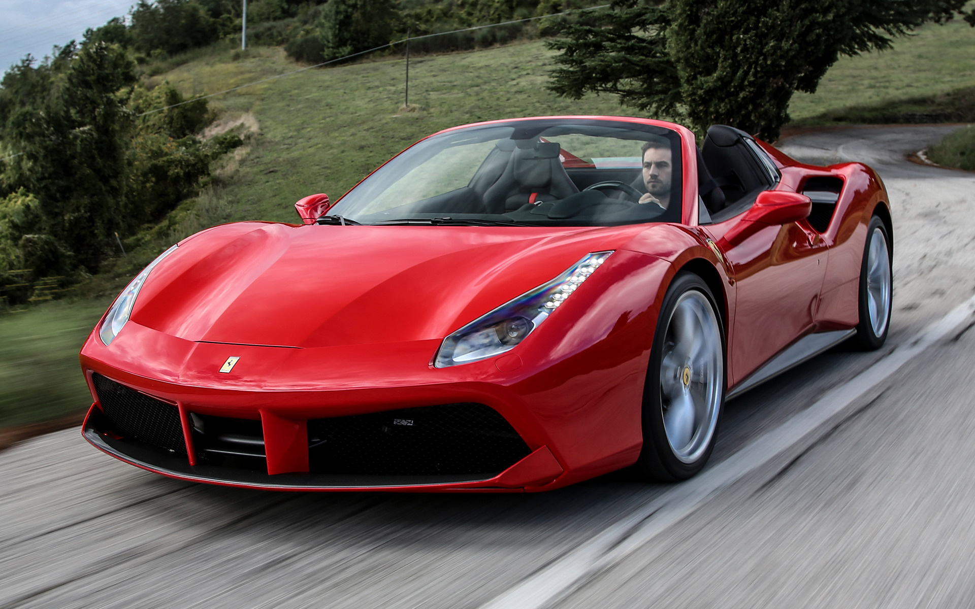 2015 Ferrari 488 Spider Wallpapers And Hd Images Car Pixel