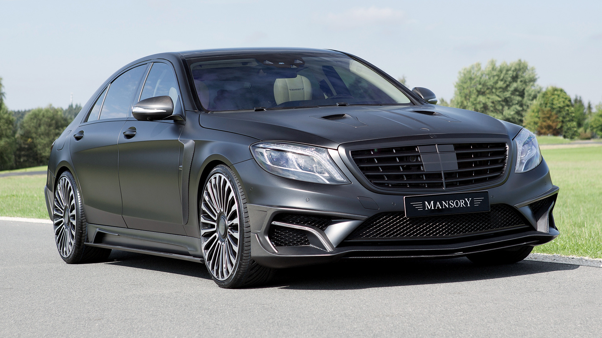 Mercedes benz s 63 amg black edition by mansory 2015 for Mercedes benz black edition
