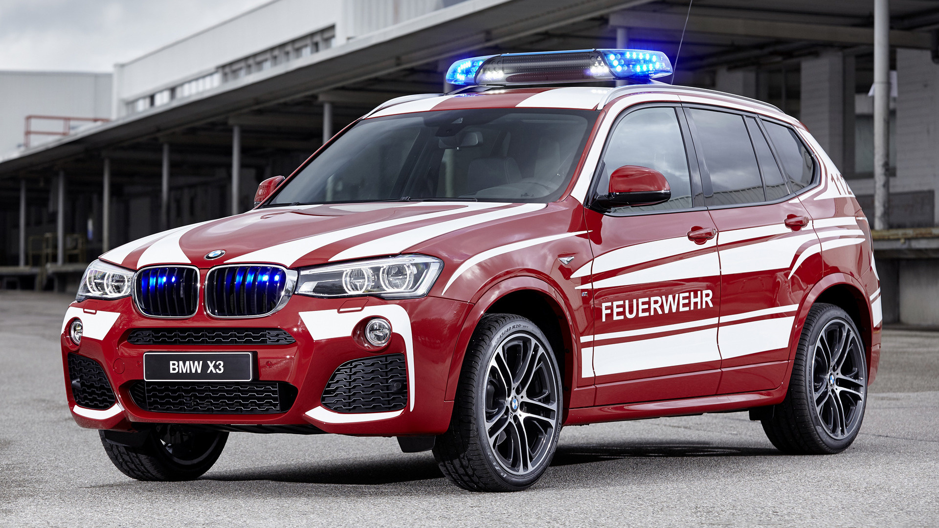 2016 BMW X3 M Sport Feuerwehr - Wallpapers and HD Images ...