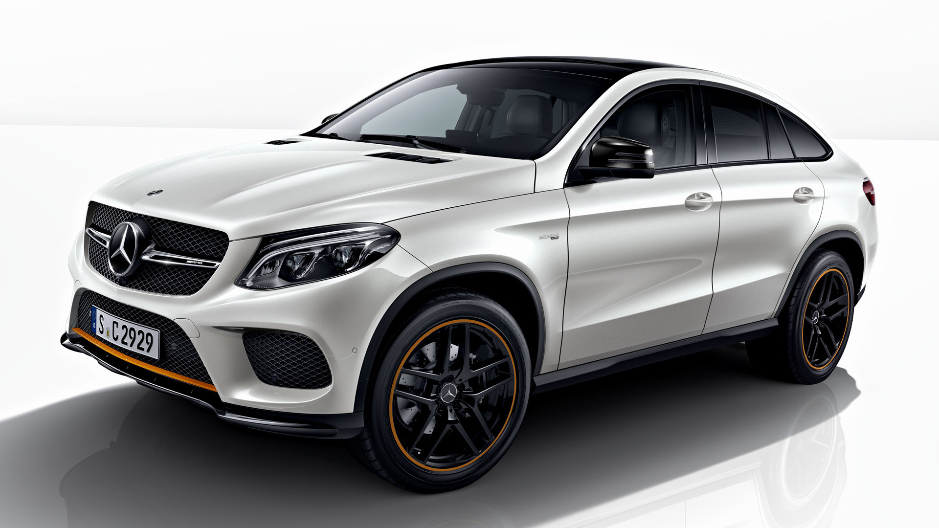 Toyota Of Orange >> 2017 Mercedes-AMG GLE 43 Coupe OrangeArt Edition - Wallpapers and HD Images | Car Pixel