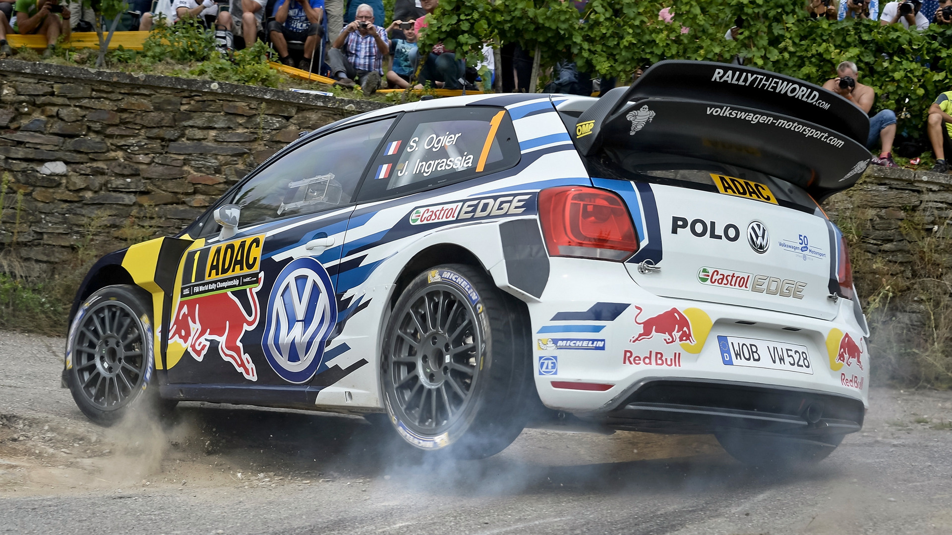 2015 Mitsubishi Eclipse >> 2016 Volkswagen Polo R WRC - Wallpapers and HD Images ...