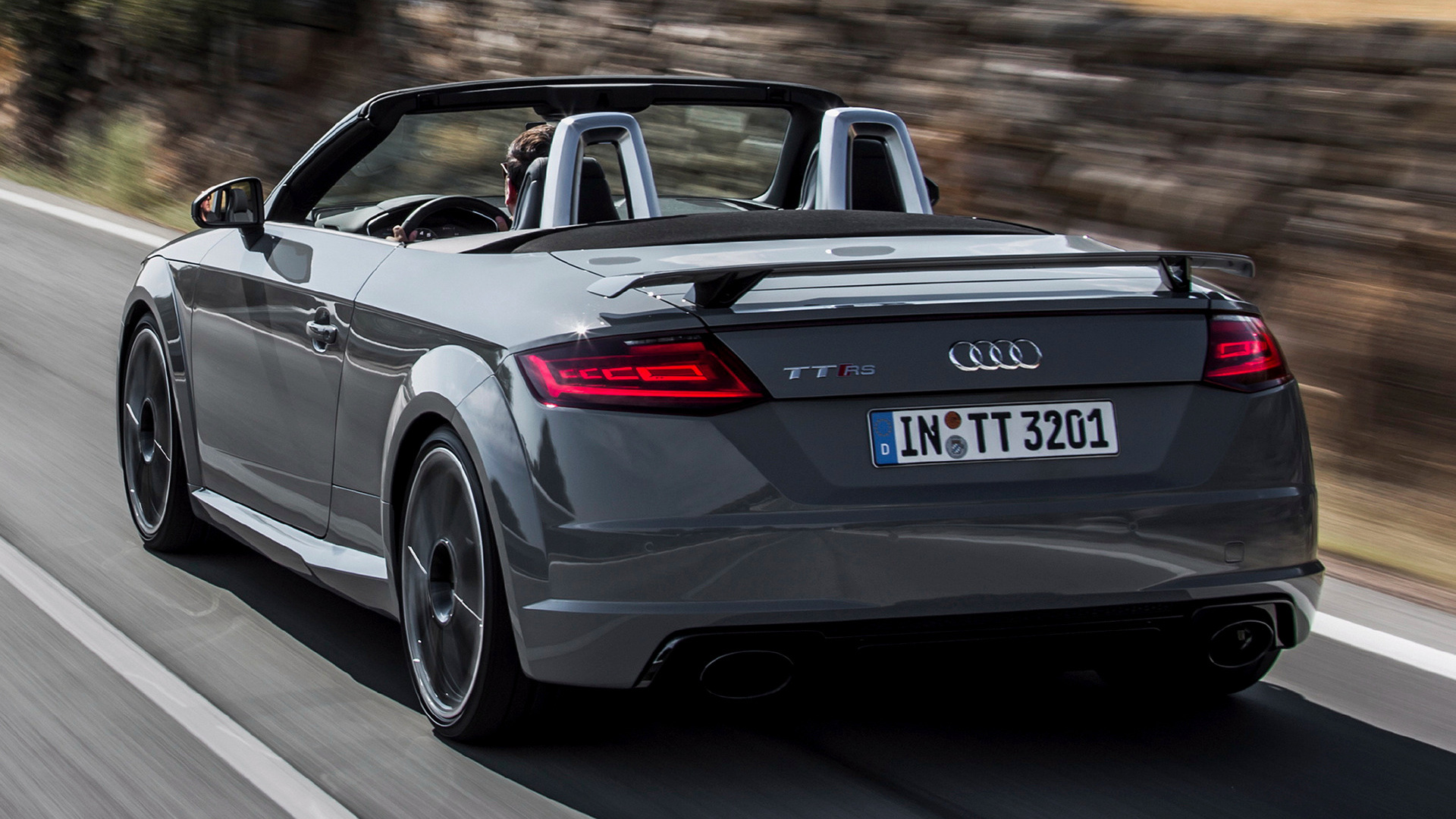 2016 audi tt rs roadster wallpapers and hd images car. Black Bedroom Furniture Sets. Home Design Ideas