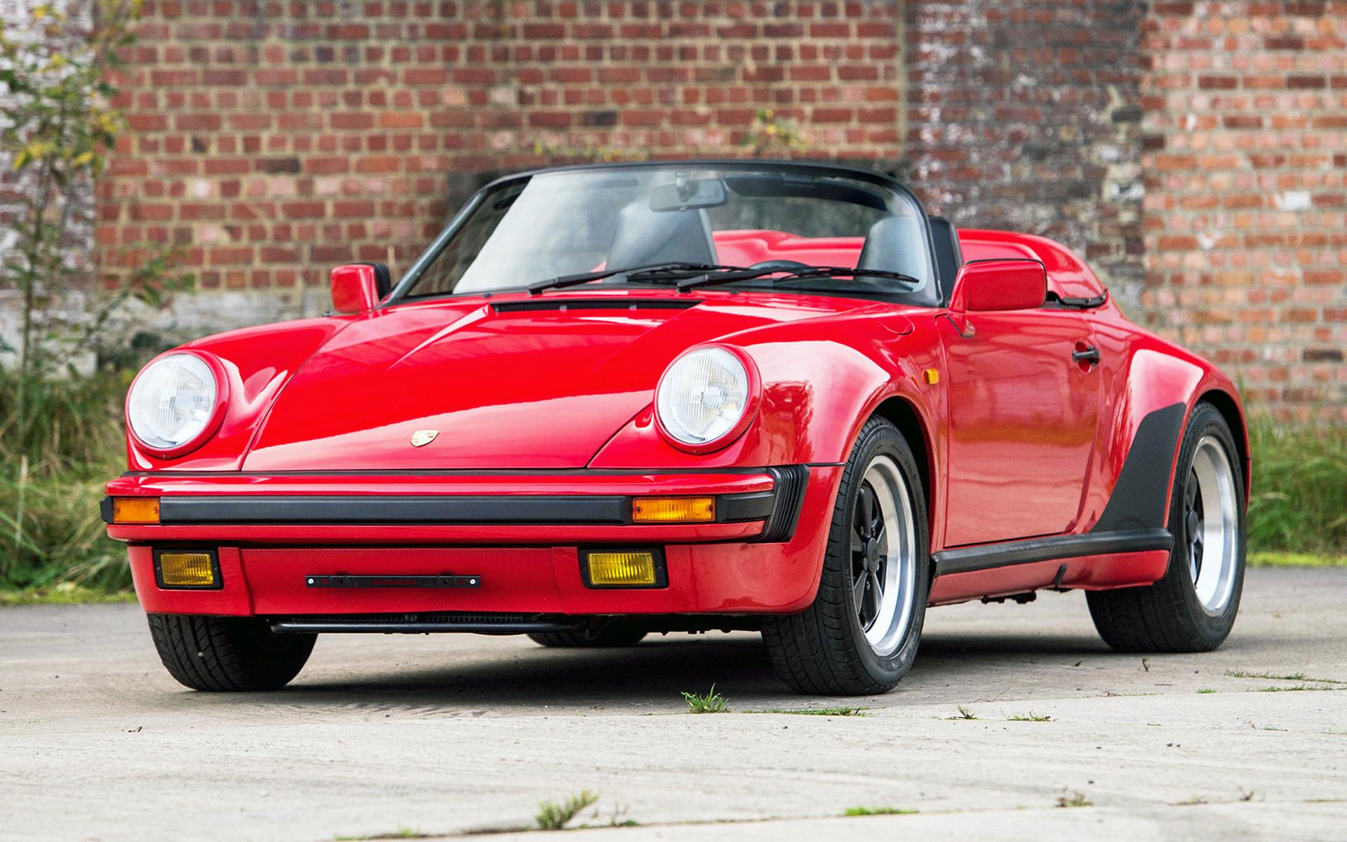 Porsche 911 R >> 1989 Porsche 911 Speedster Turbo-look - Wallpapers and HD ...