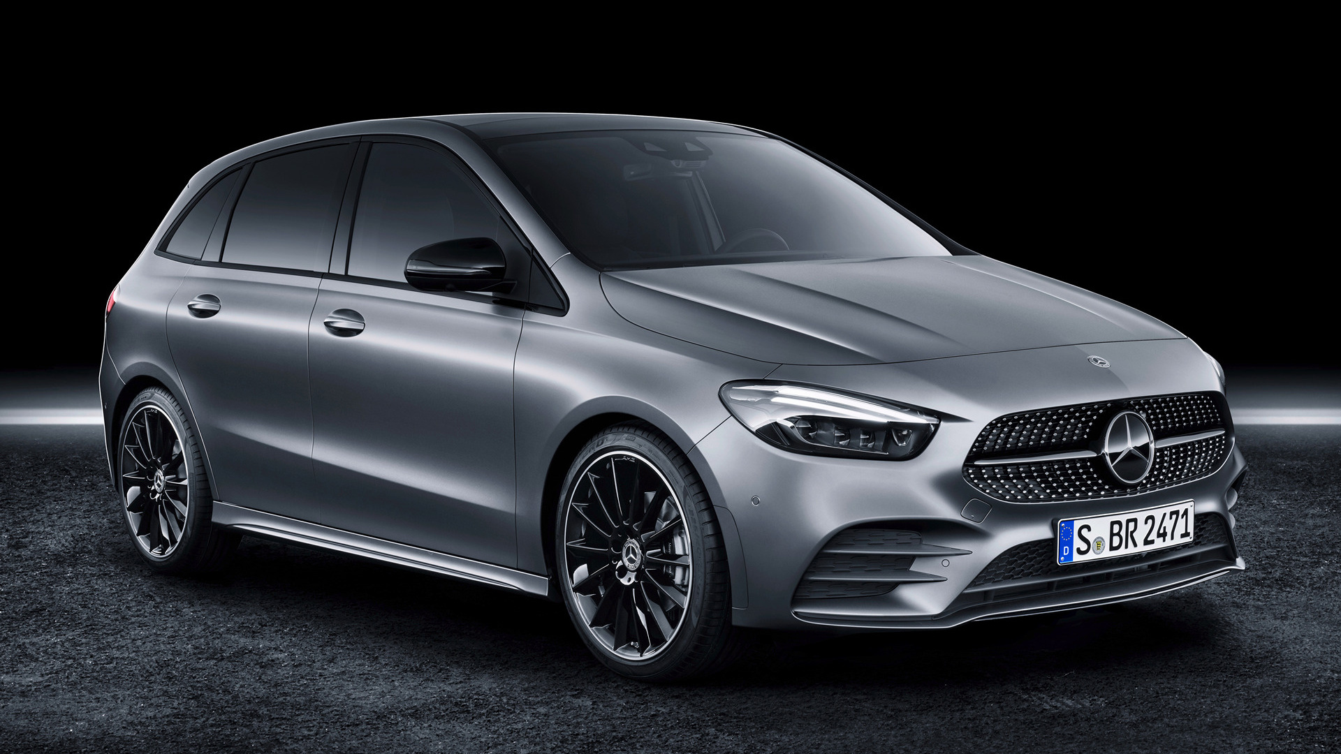 2019 mercedes benz b class amg line wallpapers and hd. Black Bedroom Furniture Sets. Home Design Ideas