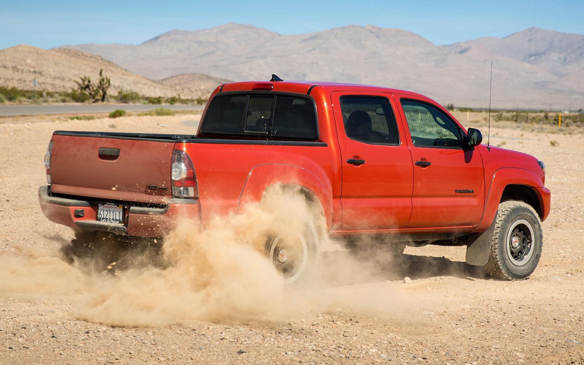 toyota pro to tacoma match of mix trd