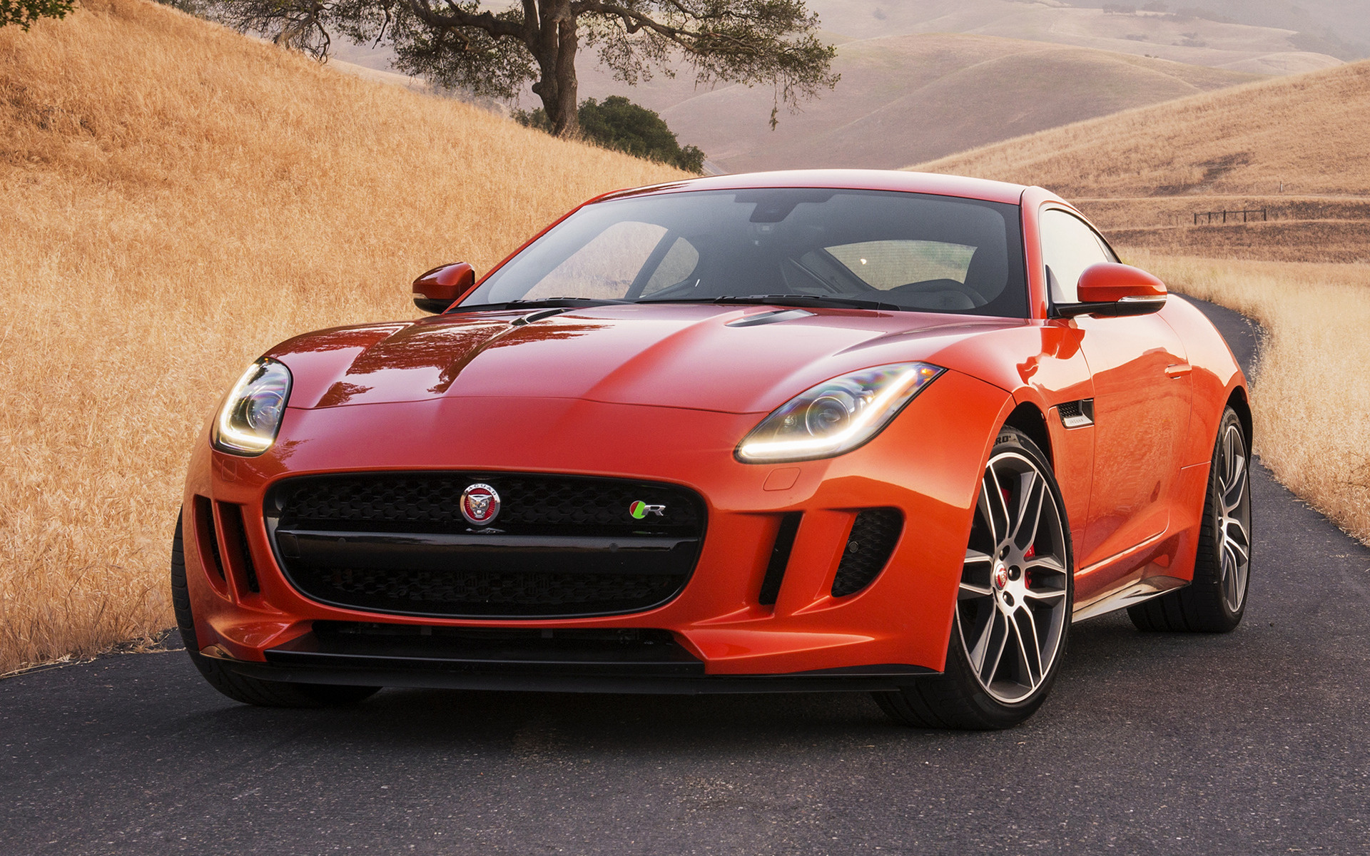 F Type Coupe >> 2015 Jaguar F-Type R Coupe (US) - Wallpapers and HD Images ...