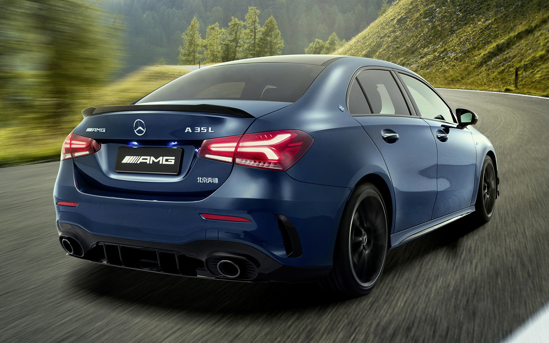 Mercedes Benz Amg >> 2019 Mercedes-AMG A 35 Sedan Aerodynamics Package [Long] (CN) - Wallpapers and HD Images | Car Pixel