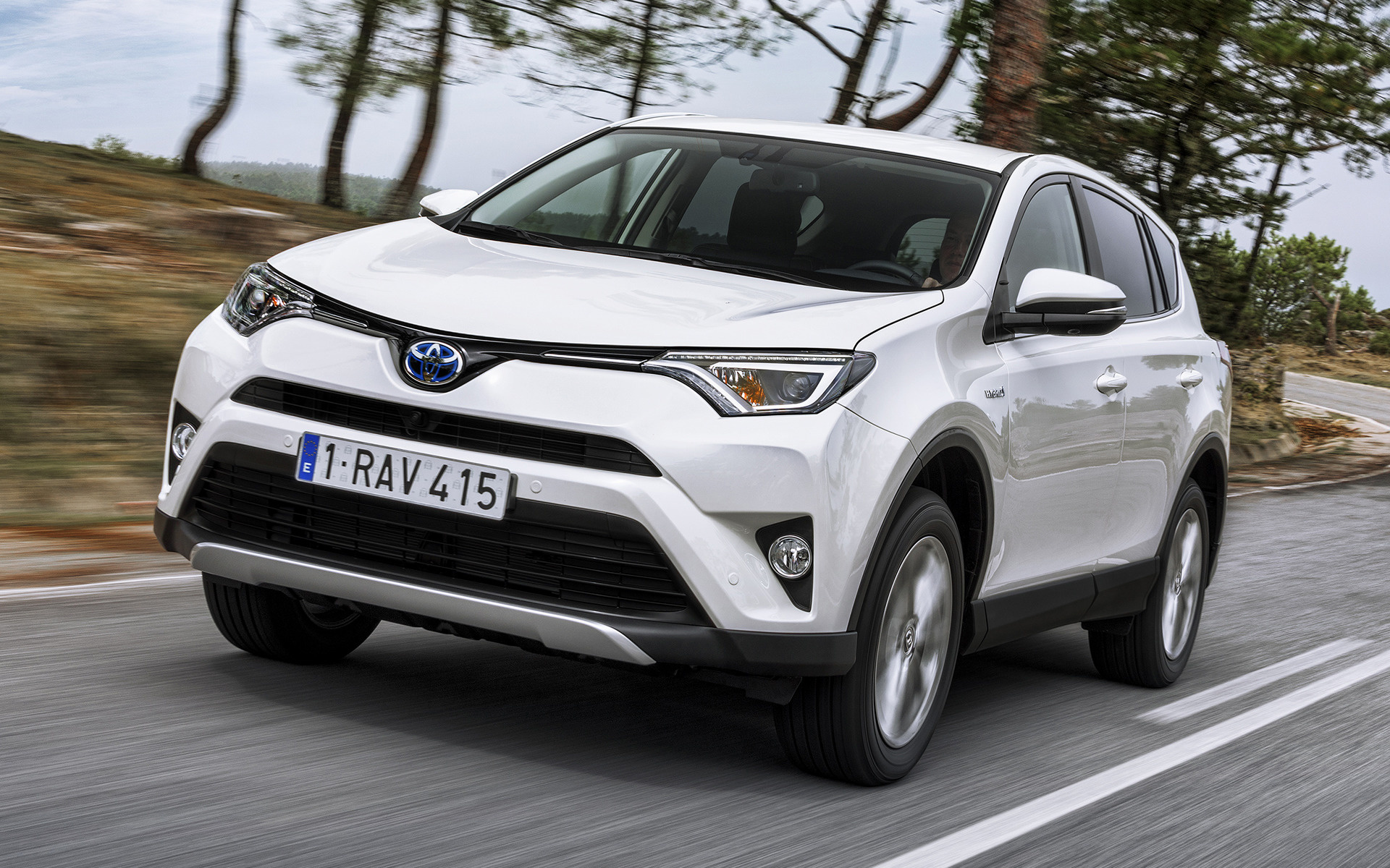 2015 Toyota Rav4 Hybrid Wallpapers And Hd Images Car Pixel