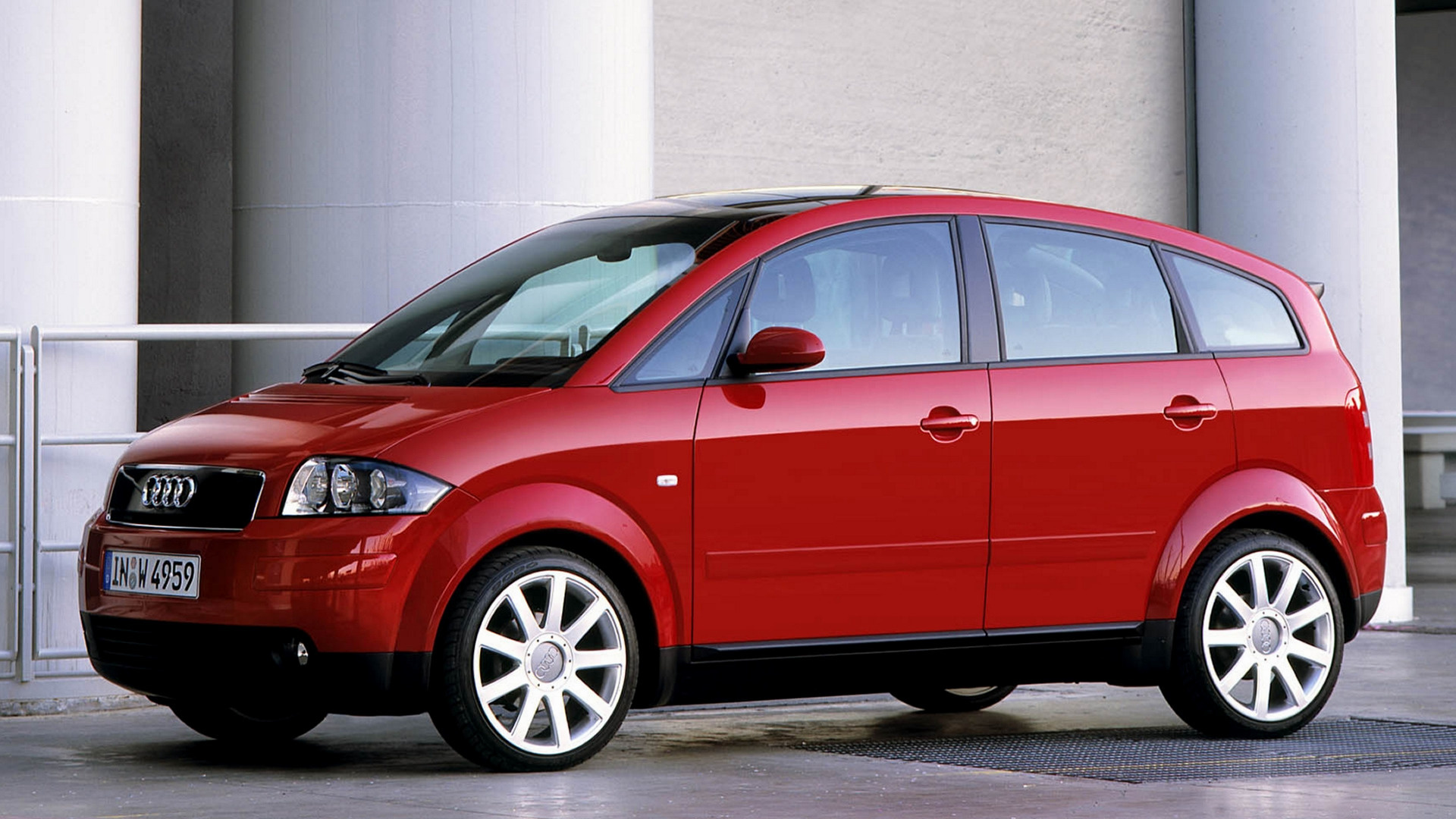 2000 Audi A2 - Wallpapers and HD Images   Car Pixel