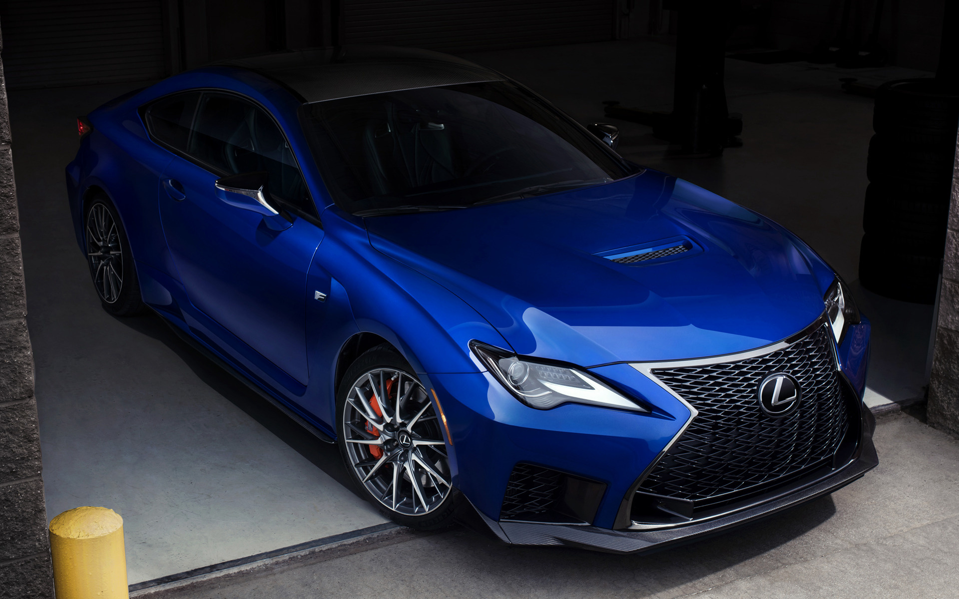 2020 Dodge Ram >> 2020 Lexus RC F (US) - Wallpapers and HD Images | Car Pixel