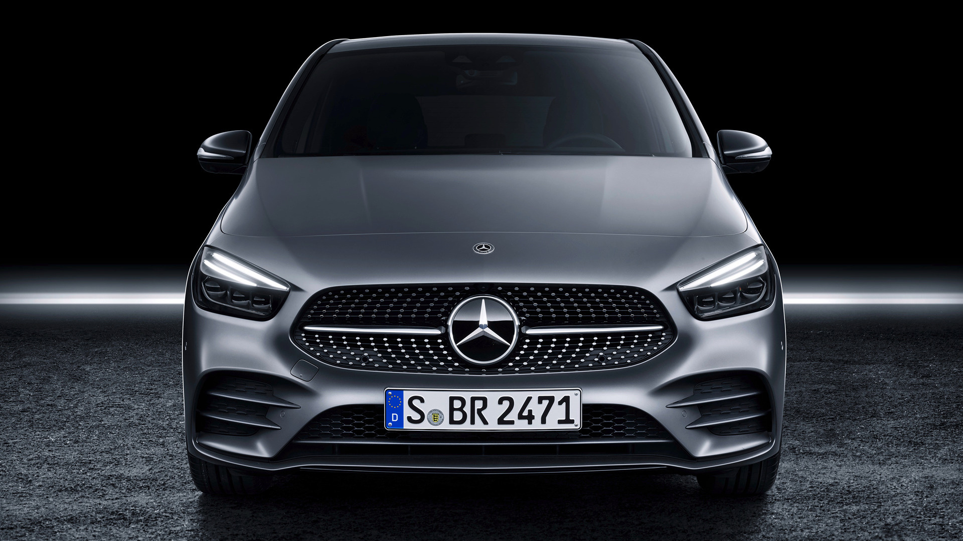 2019 Mercedes Benz B Class Amg Line Wallpapers And Hd