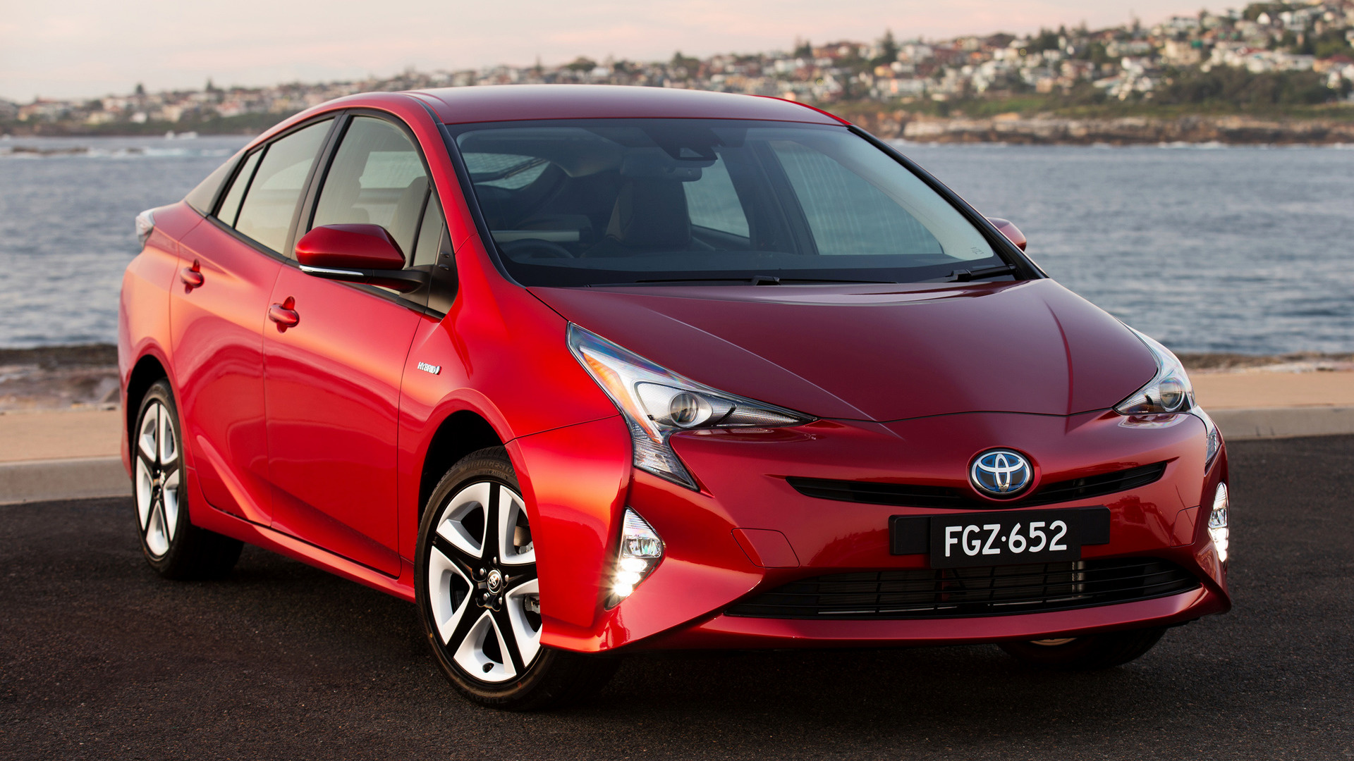Prime Buick Gmc >> 2016 Toyota Prius (AU) - Wallpapers and HD Images | Car Pixel