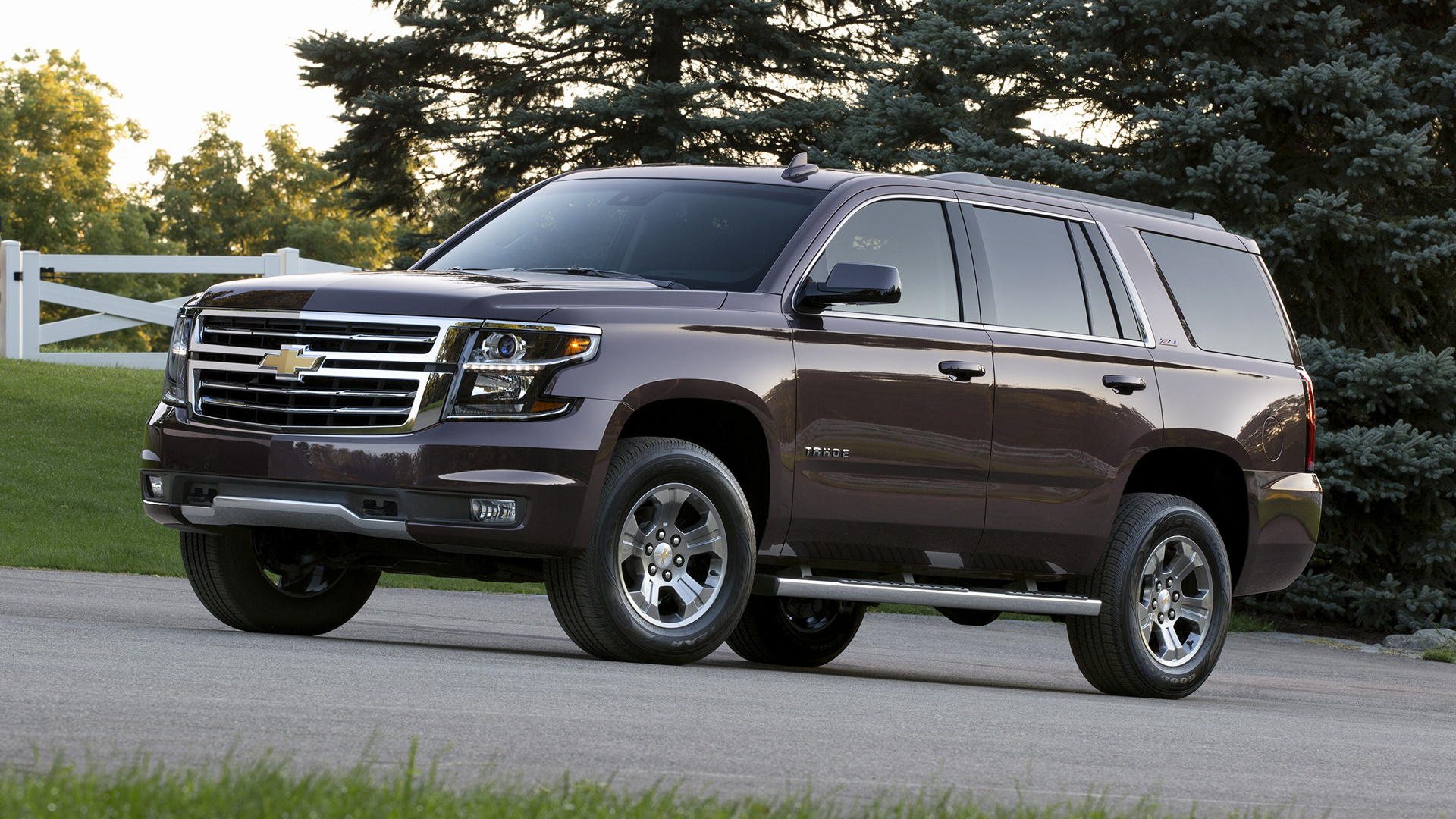 chevrolet tahoe z71 2015 wallpapers and hd images car. Black Bedroom Furniture Sets. Home Design Ideas