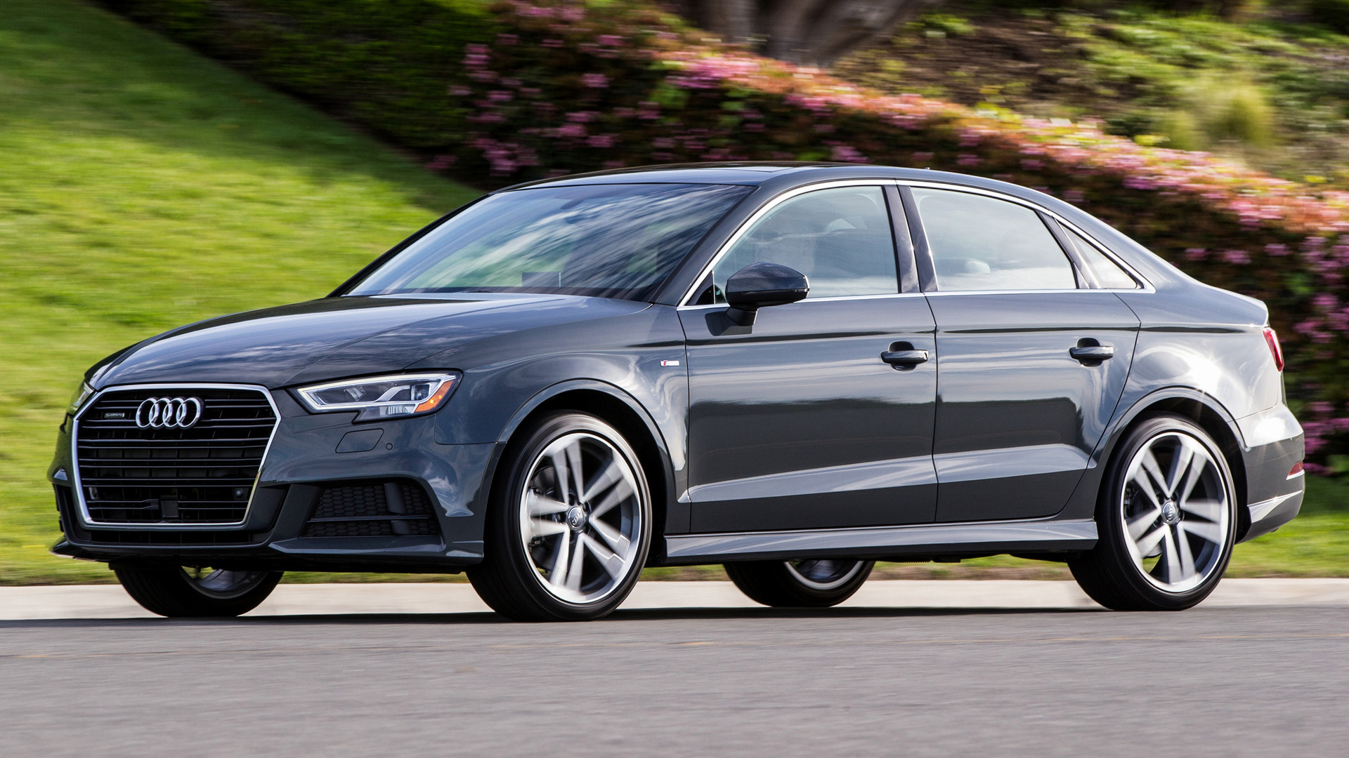 audi a3 sedan s line 2017 us wallpapers and hd images. Black Bedroom Furniture Sets. Home Design Ideas